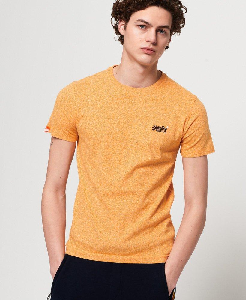 64e423ca Lyst - Superdry Orange Label Vintage Embroidery T-shirt in Yellow ...