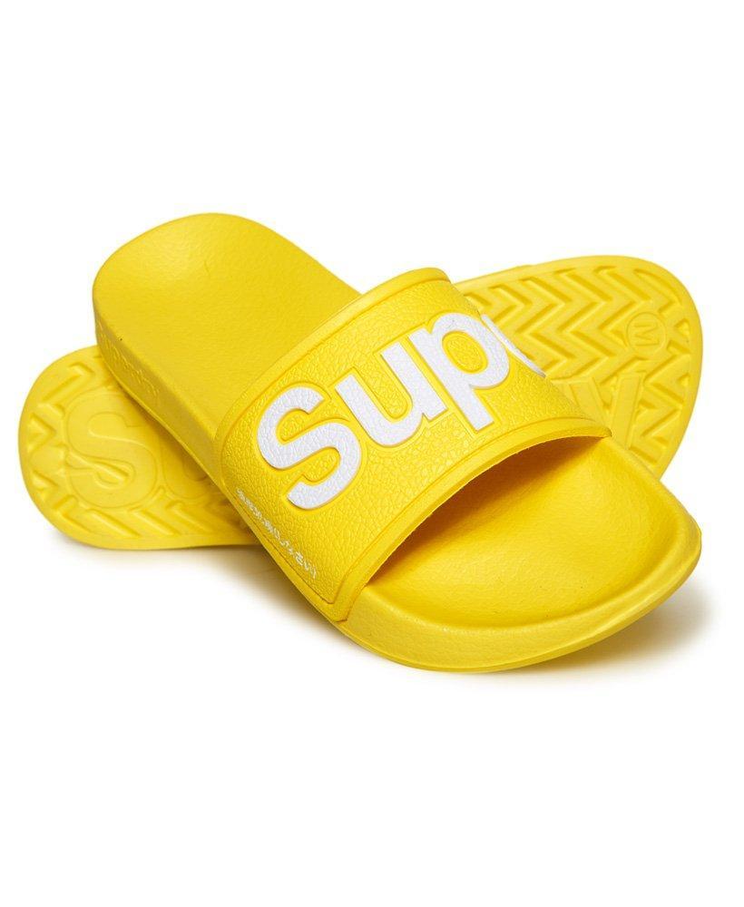95ea17fec Superdry Eva Pool Sliders in Yellow - Save 6% - Lyst