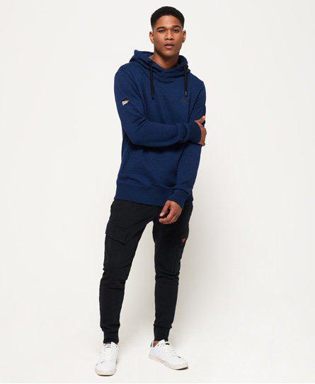 8e5c46862094c0 Lyst - Superdry Orange Label Urban Flash Hoodie in Blue for Men