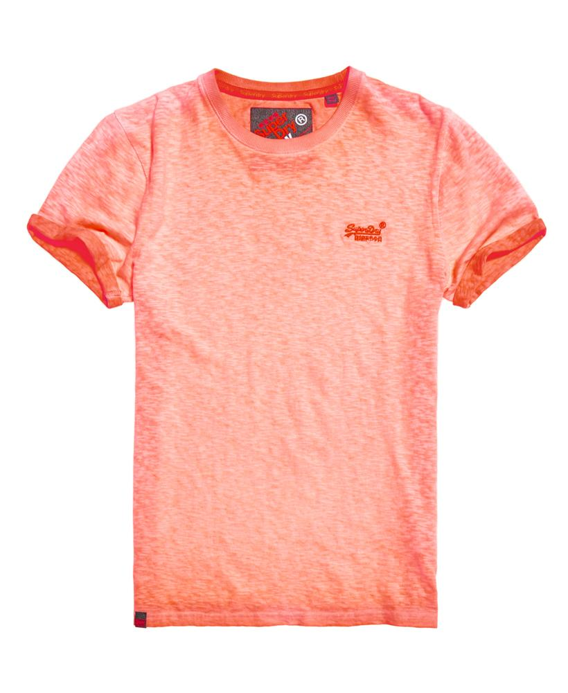 superdry low roller t shirt in orange for men lyst. Black Bedroom Furniture Sets. Home Design Ideas
