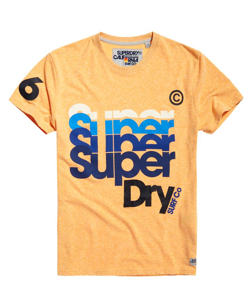 superdry pacific t shirt in blue for men lyst. Black Bedroom Furniture Sets. Home Design Ideas