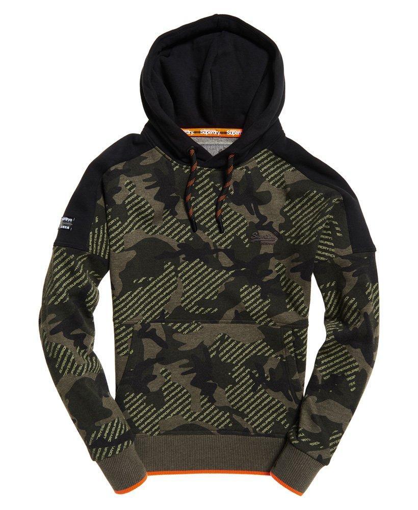 66da3345a6c7ed Lyst - Superdry Orange Label Urban Hoodie in Green for Men