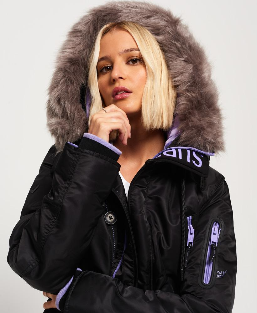 Gallery. Previously sold at  Superdry · Women s Faux Shearling Coats ... 4f313307c4e7