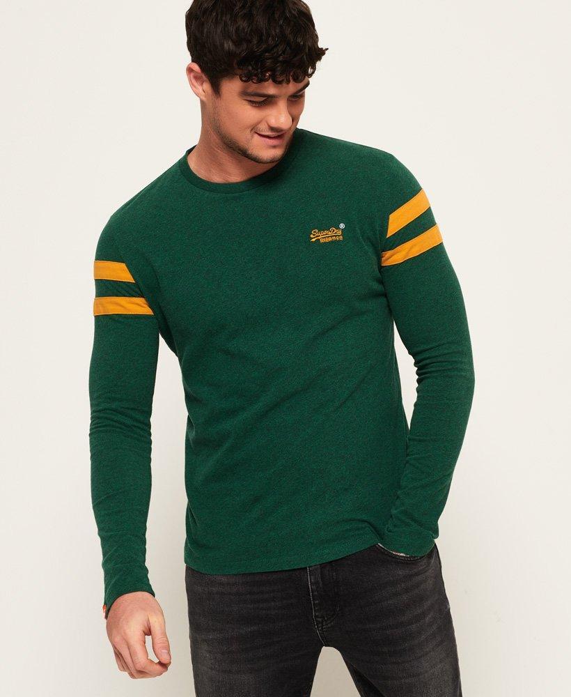 8b2f8dfe Superdry Orange Label Softball Ringer T-shirt in Green for Men - Lyst