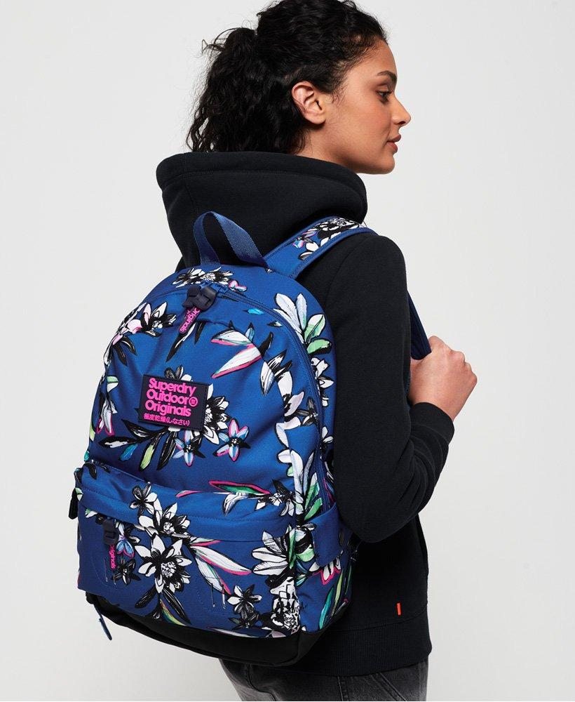 95900f7cad2 Lyst - Superdry Print Edition Montana Rucksack in Blue