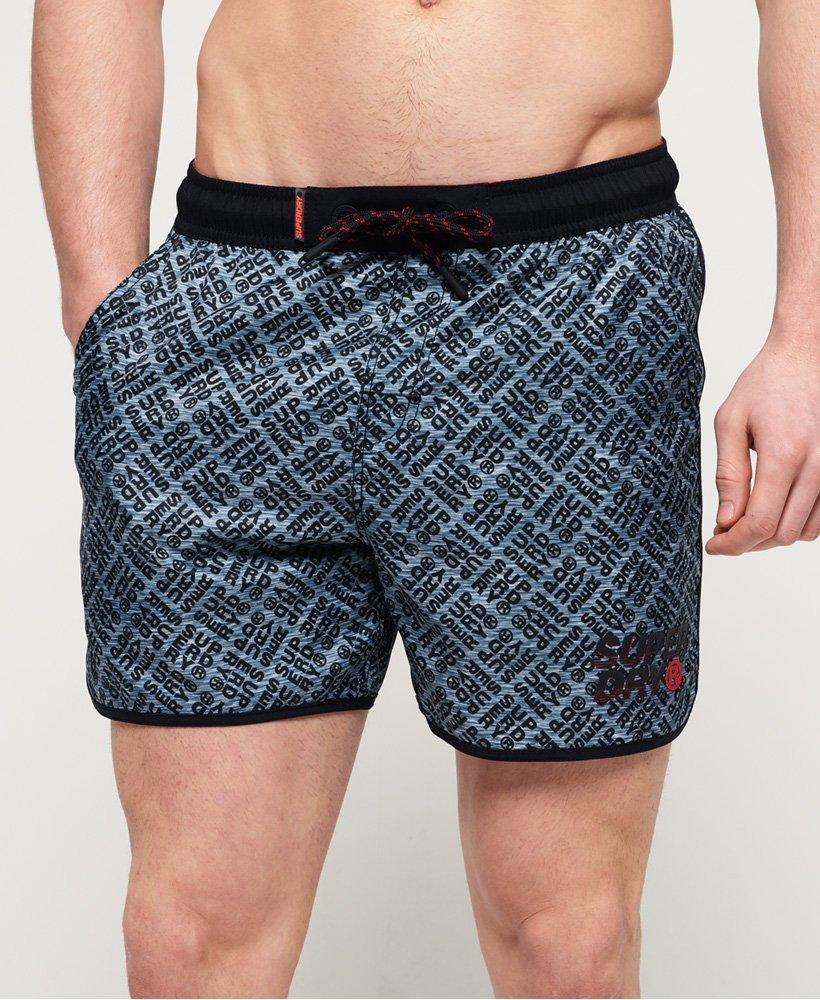 4c5d41db9f Superdry Echo Racer Swim Shorts in Blue for Men - Lyst