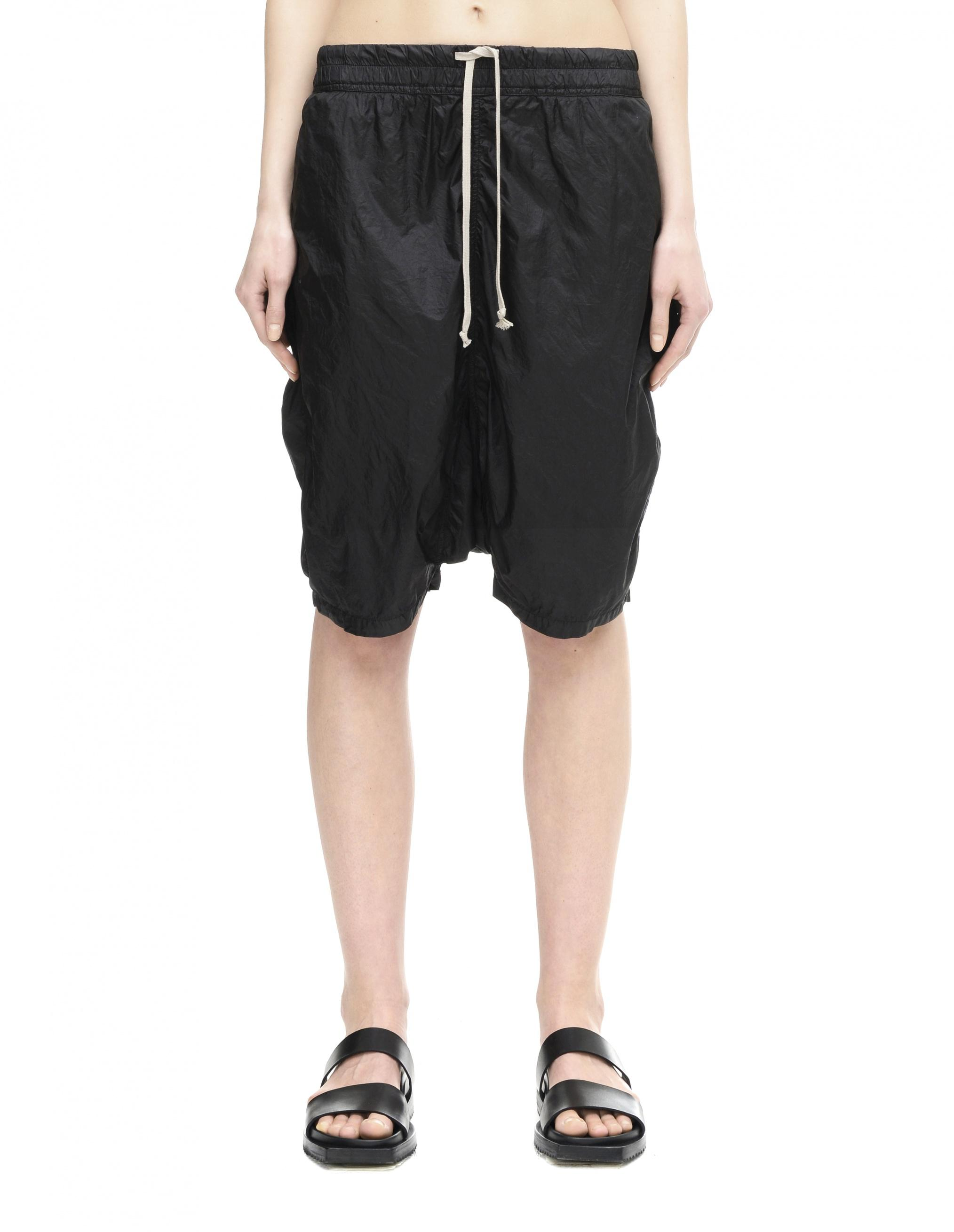 fb6180af90 Rick Owens Drkshdw Nylon Shorts in Black for Men - Lyst