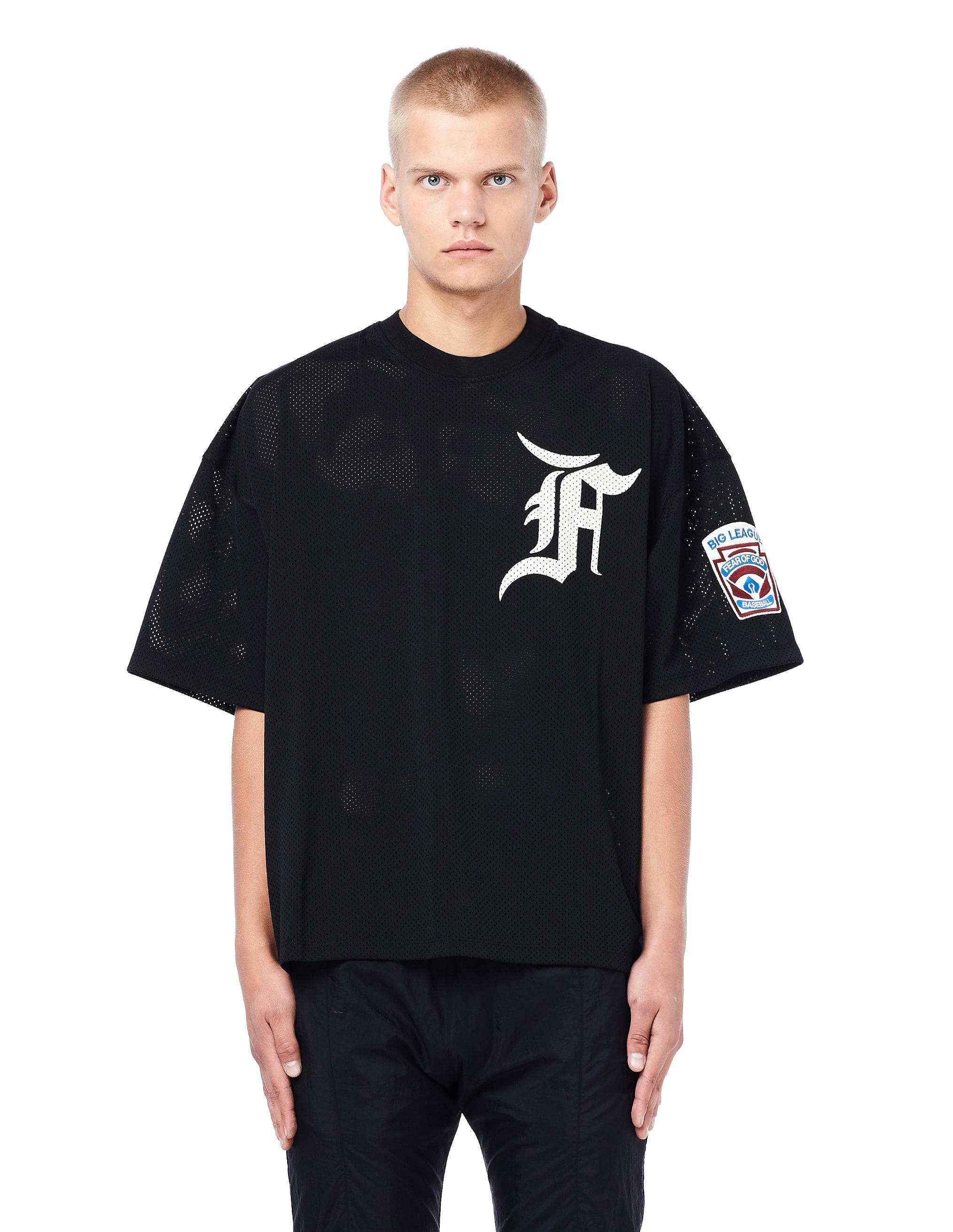 Fear Of God Mesh Batting Practice Jersey in Black for Men - Lyst 63e1a097e