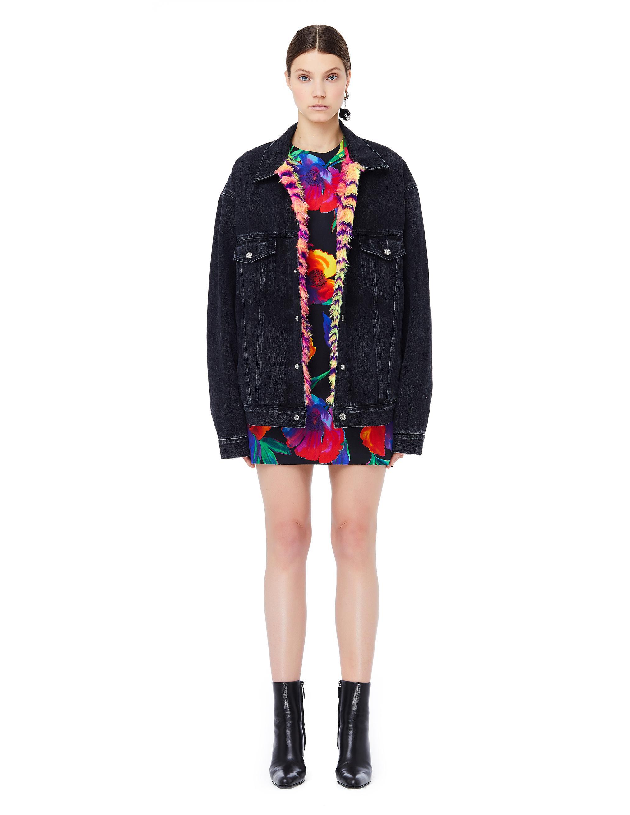 1e0ca9f619e2 Balenciaga Flower Printed 3d Dress - Lyst