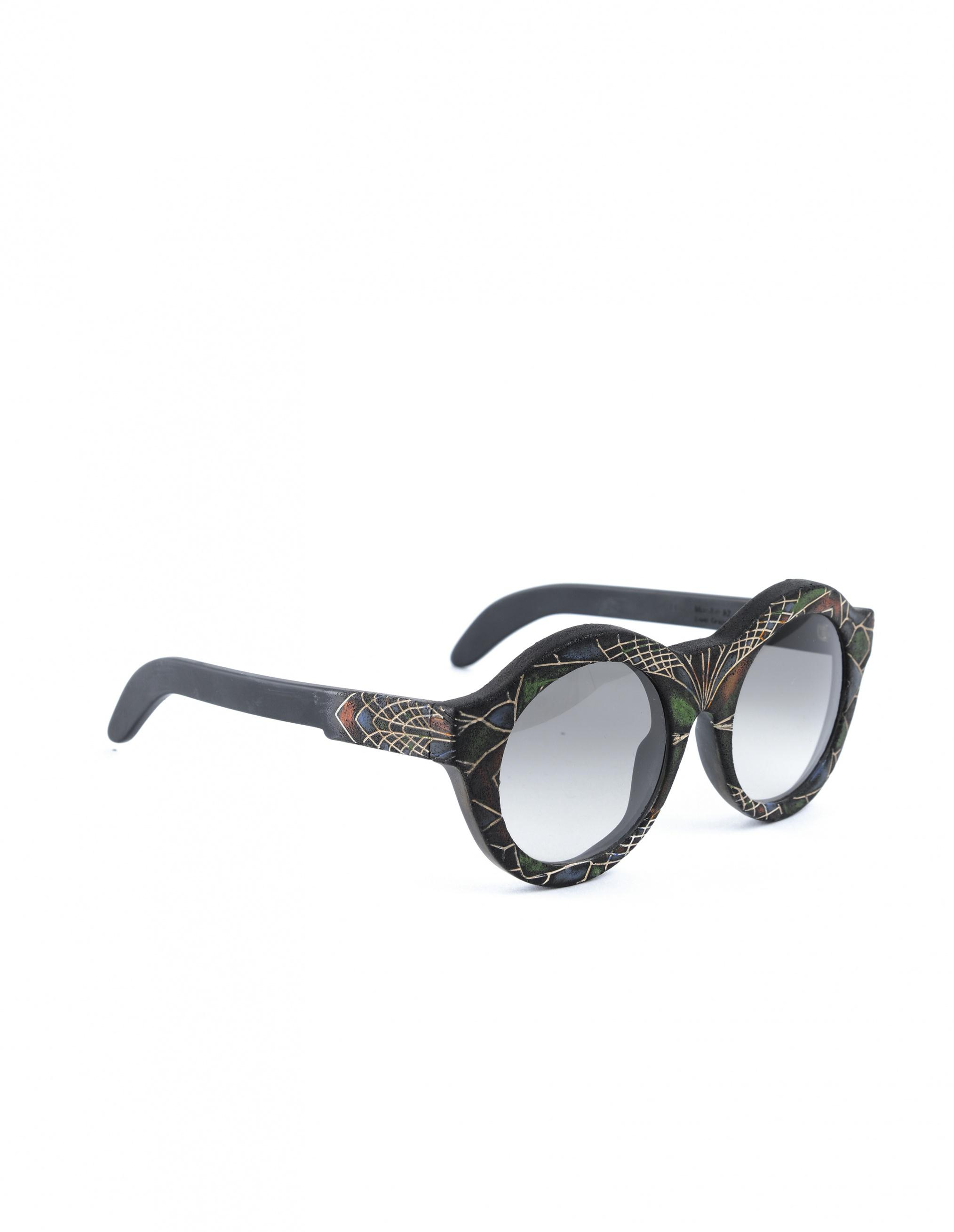 316d80485d0 Kuboraum Sunglasses A2 in Green - Lyst