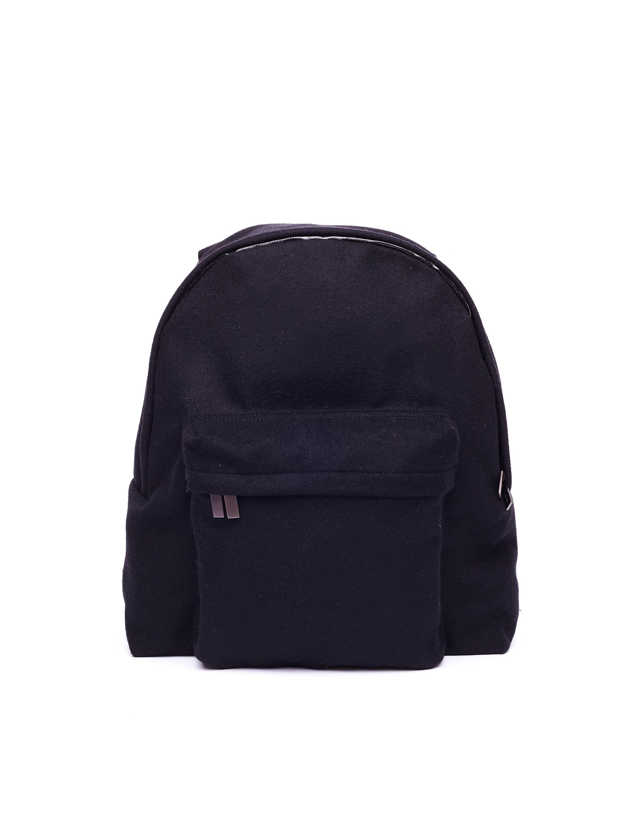 4efcb7fabb Yohji Yamamoto Black Wool Backpack in Black for Men - Lyst