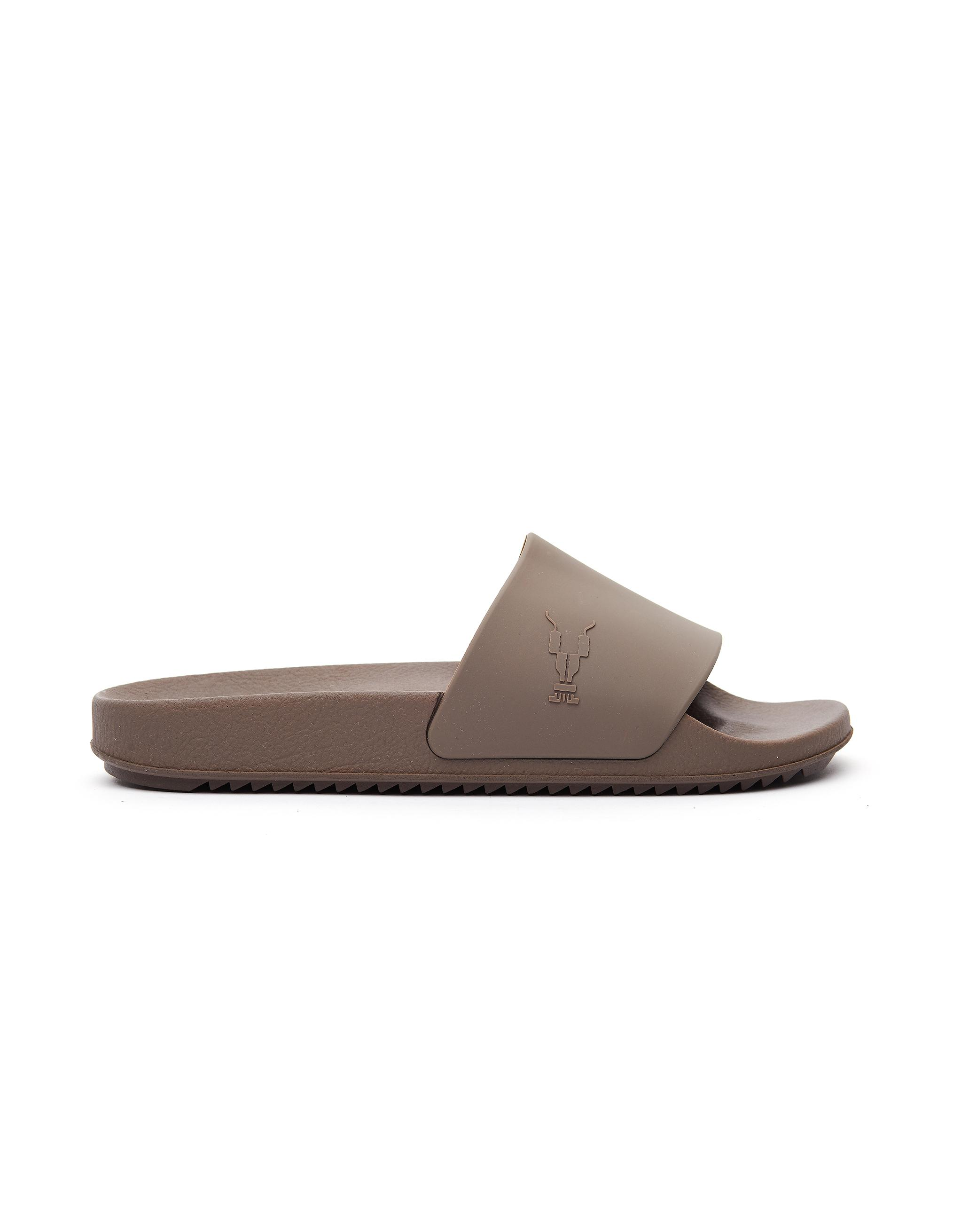 ee770962a556 Lyst - DRKSHDW by Rick Owens Dust Grey Rubber Slides in Gray