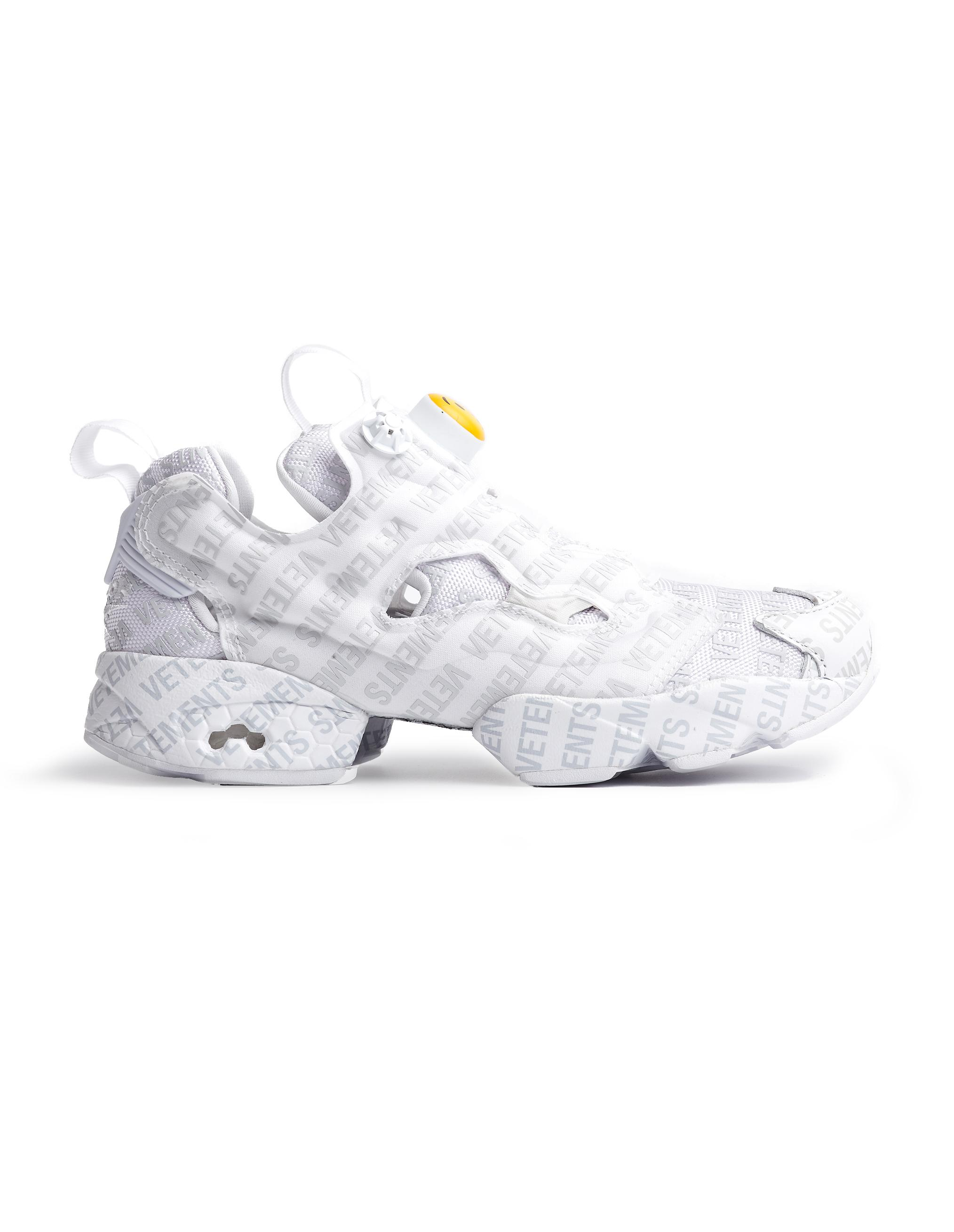884d32d72add ... Reebok Logo Instapump Fury Sneakers for Men - Lyst. View fullscreen