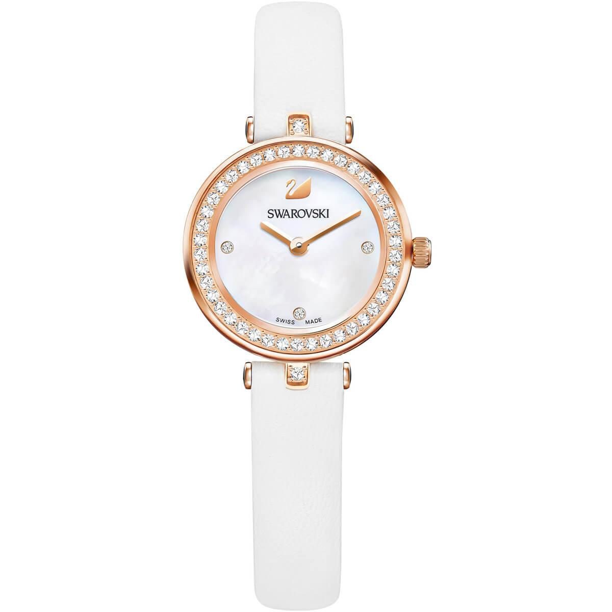 2419ce01e Swarovski - White Aila Dressy Mini Watch - Lyst. View fullscreen