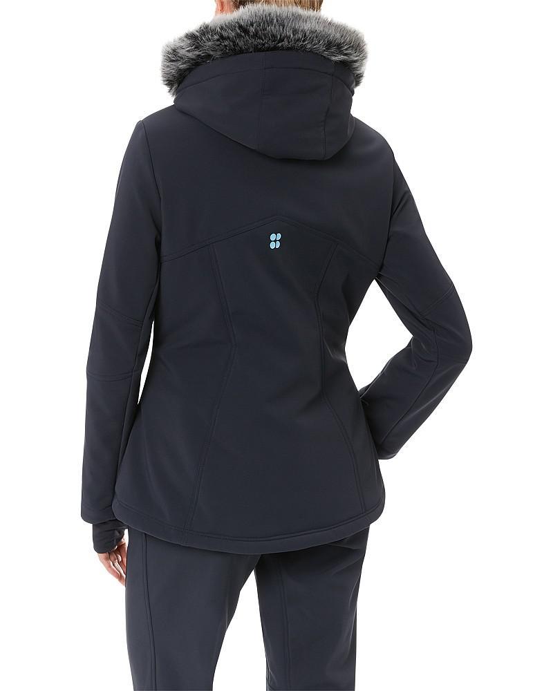 8b431084cf8 Lyst - Sweaty Betty Exploration Softshell Ski Jacket in Black