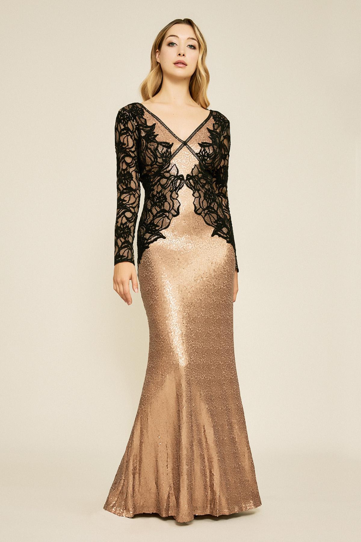 16ca4bfe9d Tadashi Shoji. Women s Vulcan Lace Sequin Gown