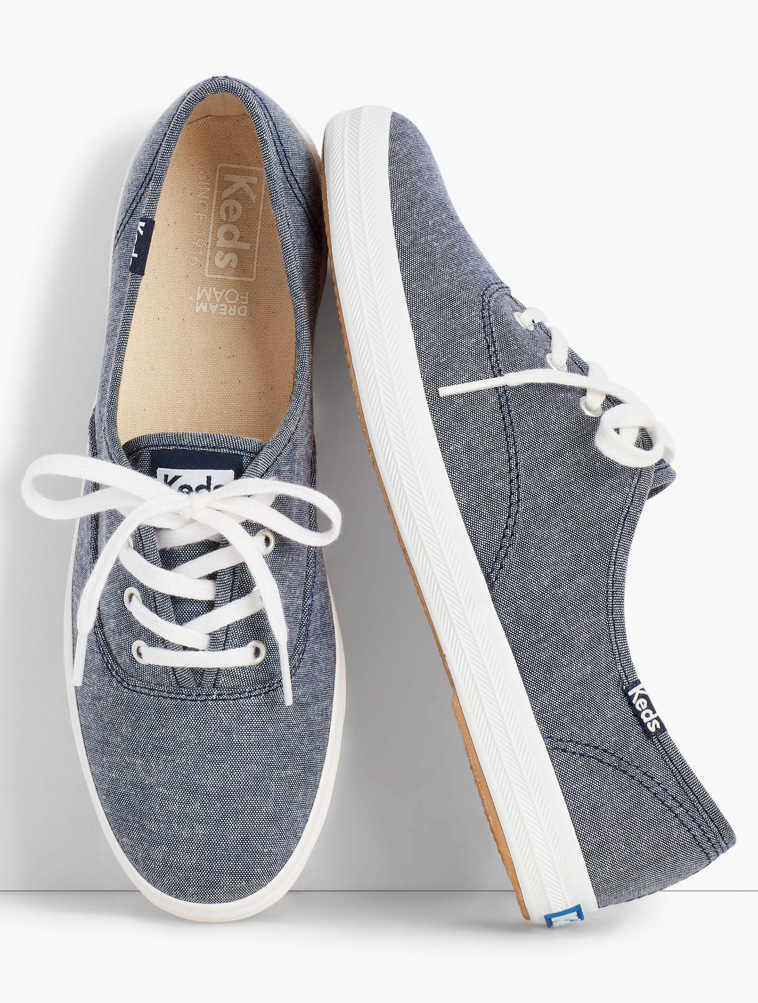 ed8c123892be4 Lyst - Talbots Keds(tm) Champion Sneakers in Blue