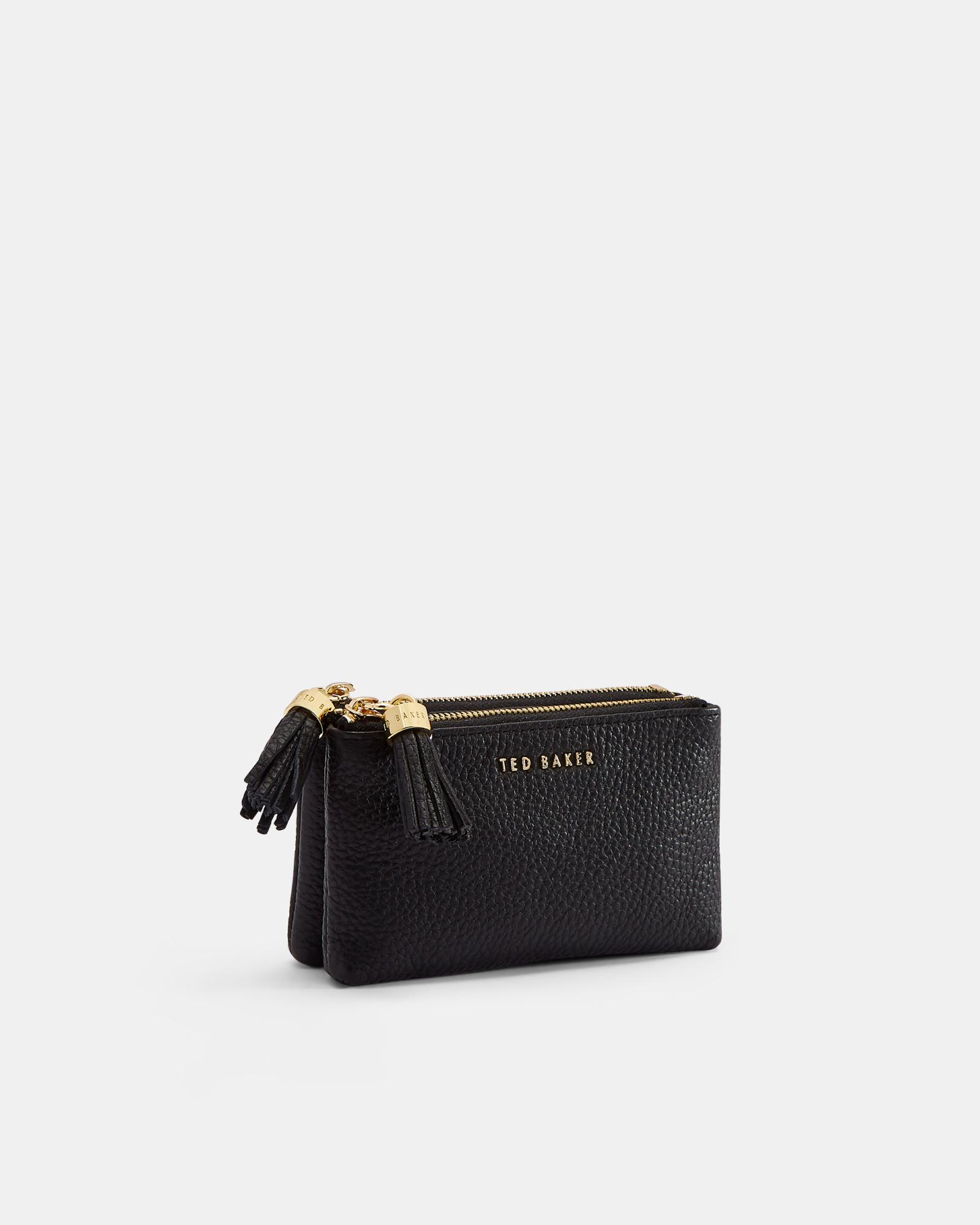 0b68477bc0334d Ted Baker Black Leather Wallet With Coin Pocket - Best Photo Wallet ...