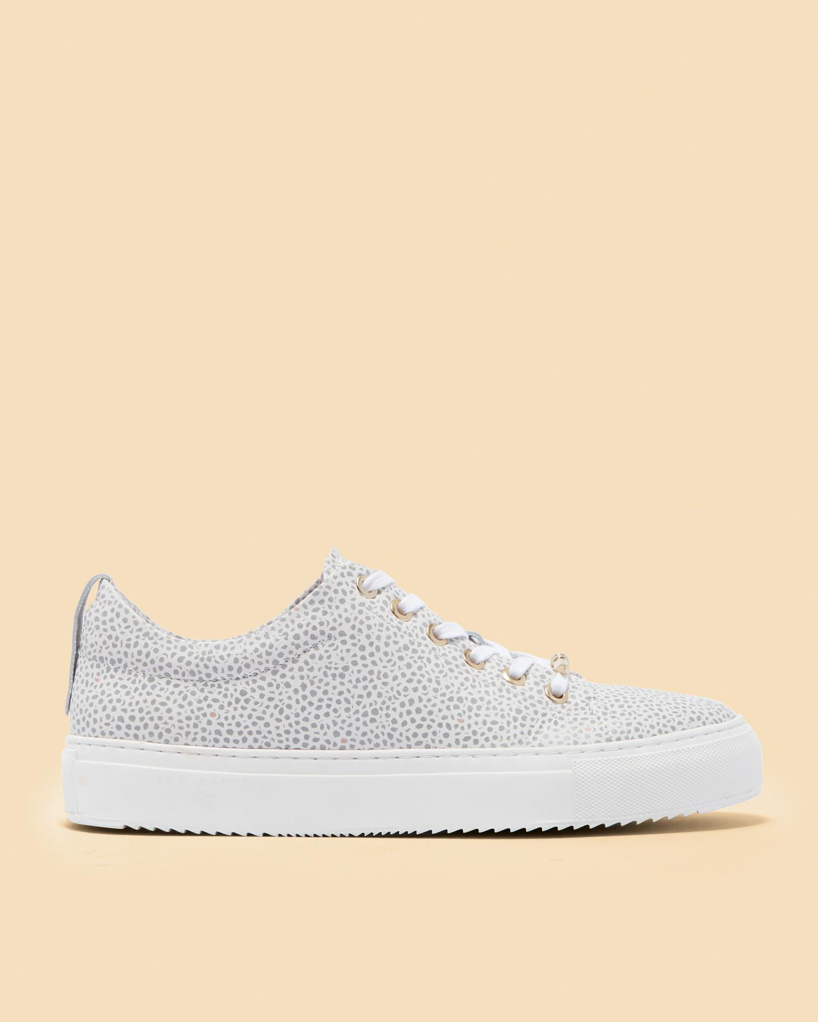 Pebble Print Leather Trainers Ted Baker Discount Shop Offer Visa Payment Sale Online Clearance Recommend Ebay Online ZqZY8L