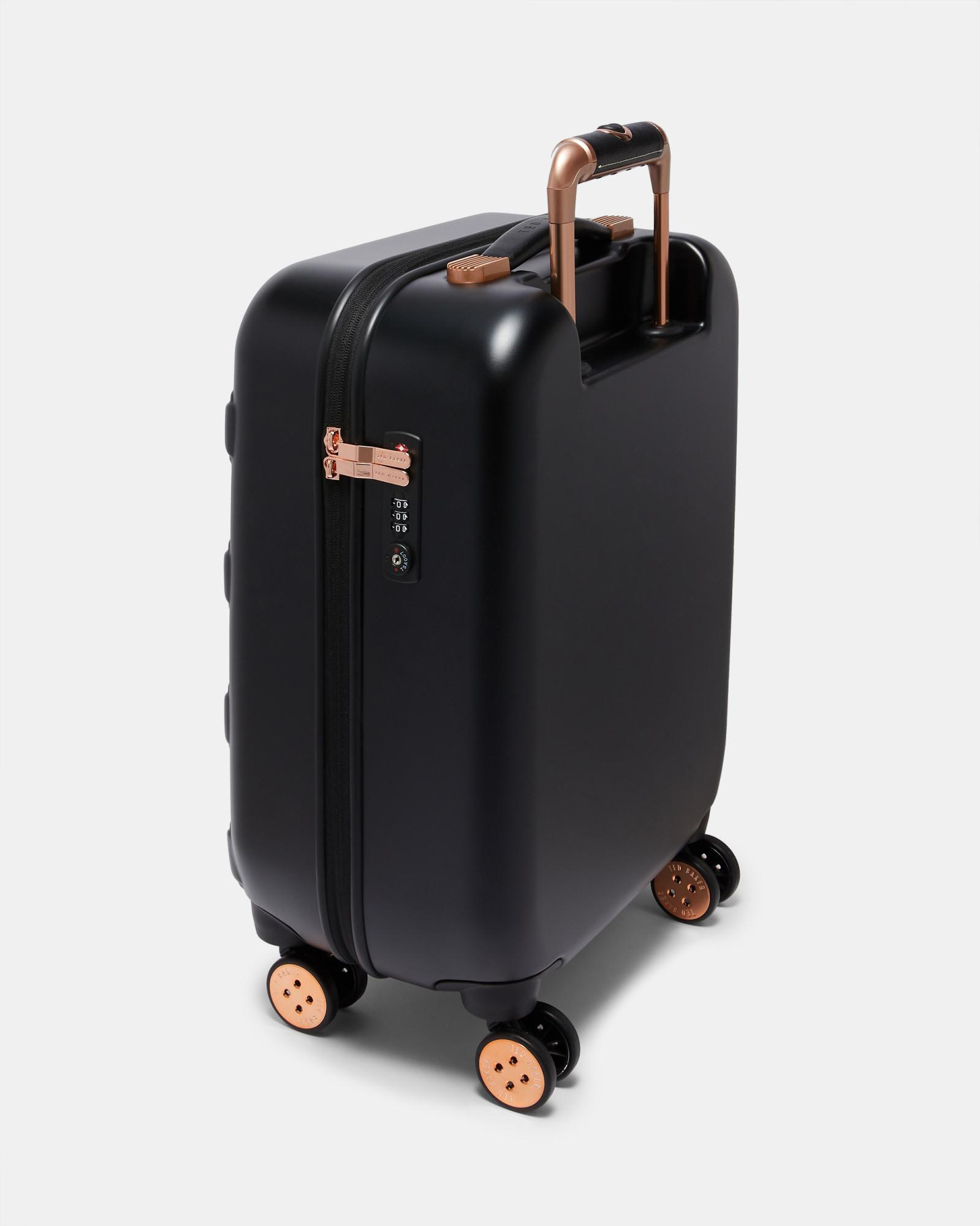 401e4d1aca4f4 Lyst - Ted Baker Bow Detail Small Suitcase in Black
