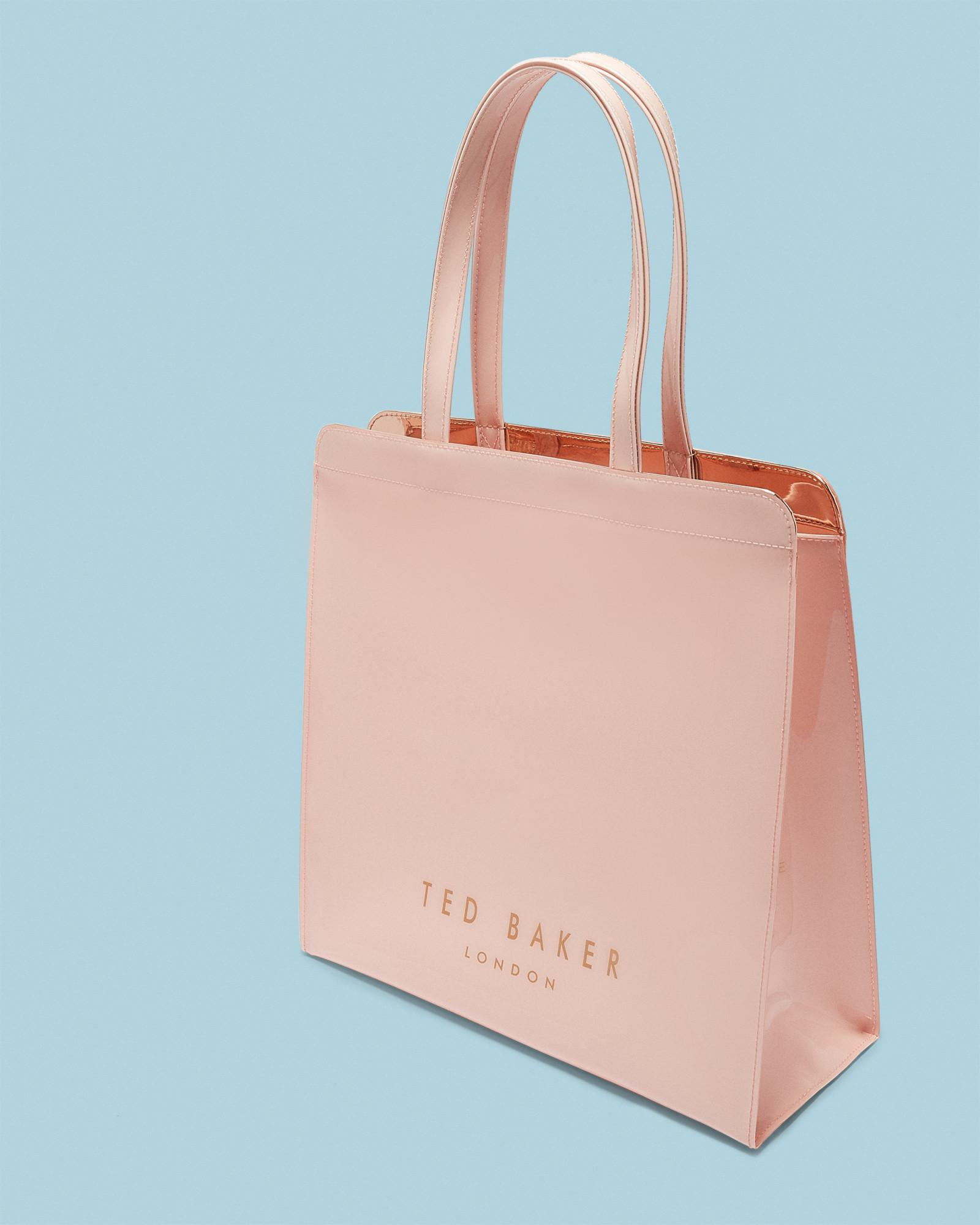 18525bd23586 Ted Baker Large Bow Icon Bag in Pink - Lyst