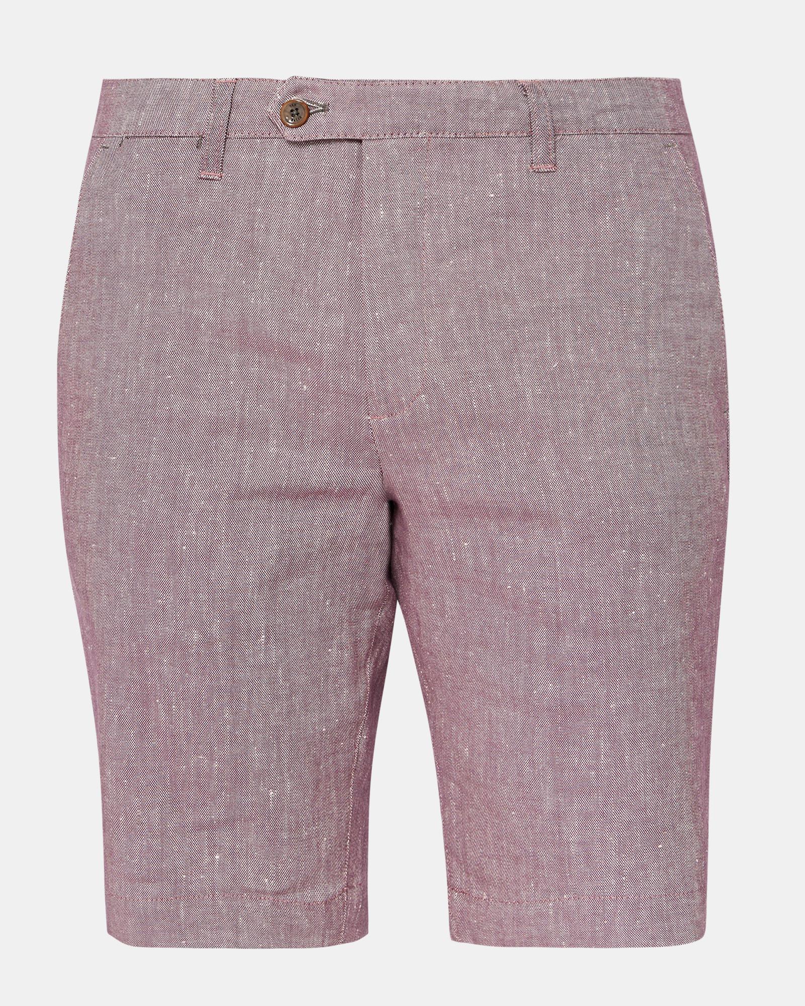 Slim Fit Linen Shorts Ted Baker RemUbcS9ov