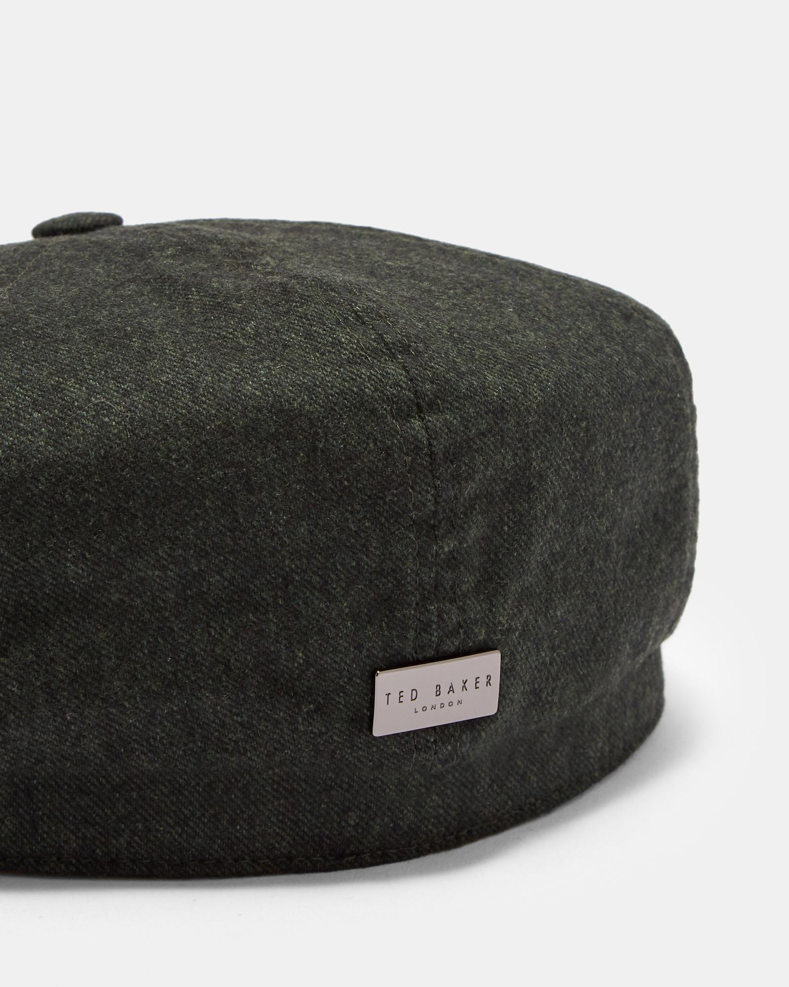 d853e5cde Lyst - Ted Baker Brec Baker Boy Hat in Green for Men
