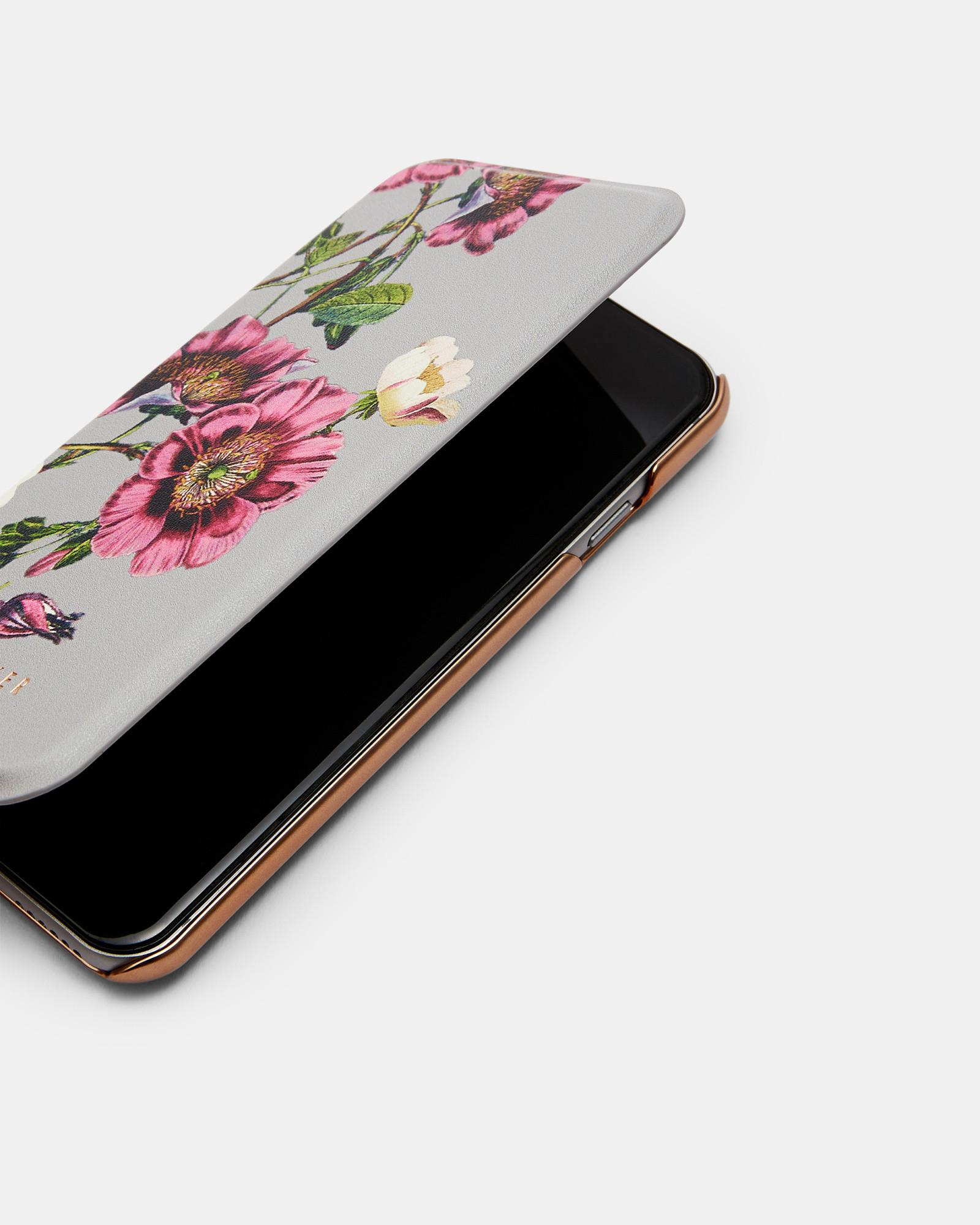 279457e64 Ted Baker Oracle Iphone 6 6s 7 8 Plus Mirror Case in Gray - Lyst