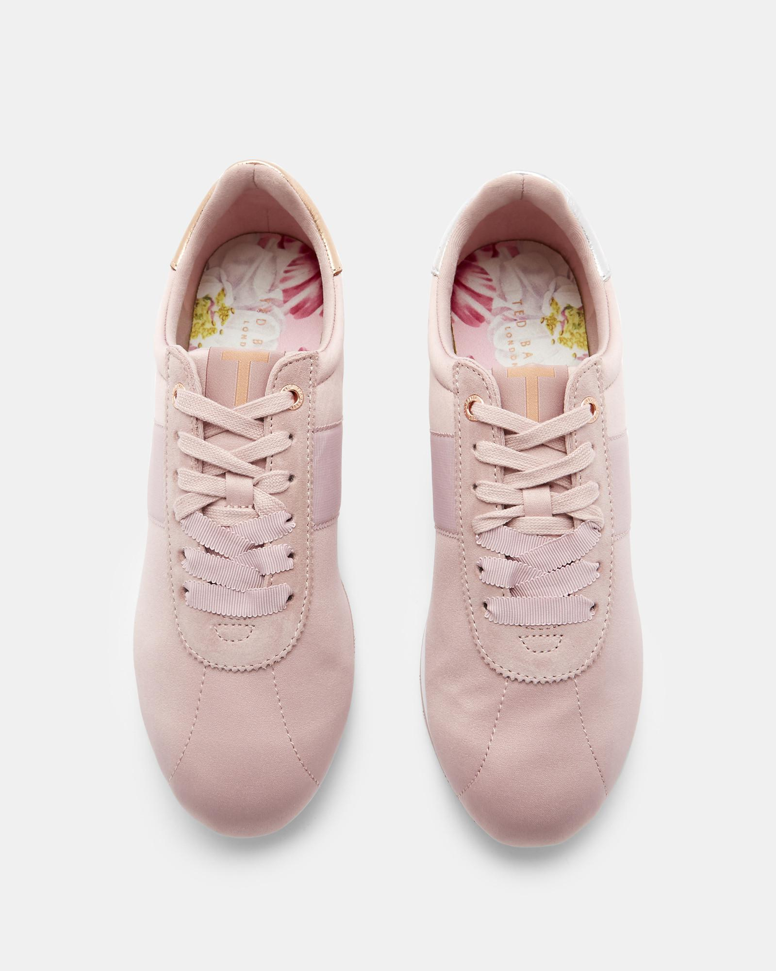 3c85592d5 Lyst - Ted Baker Retro Runner Trainers in Pink