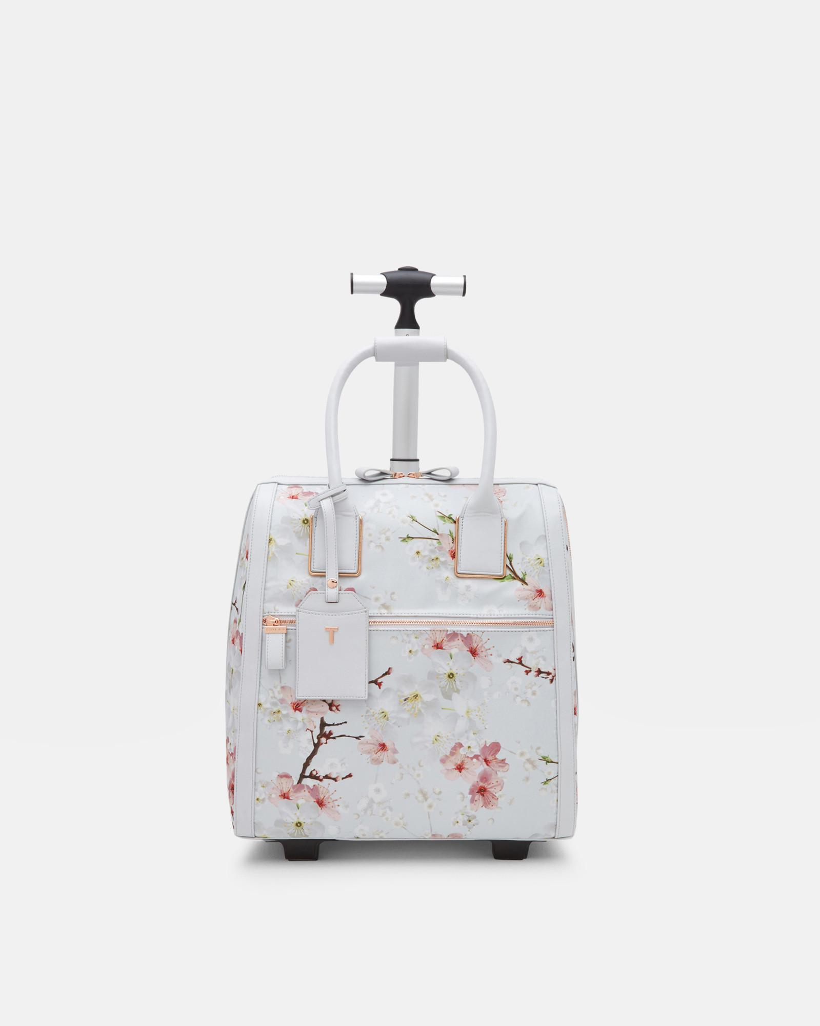 a0c16bcd1931 Ted Baker Oriental Blossom Travel Bag in Gray - Lyst