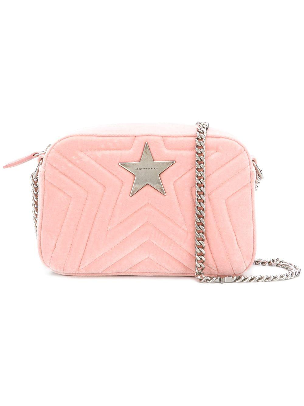 Stella Mccartney Stella Star Mini Shoulder Bag in Pink - Save ... d64fc7249996e