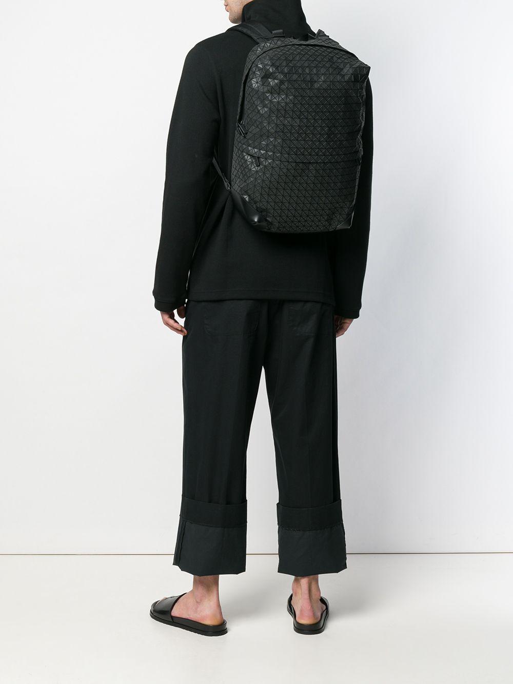 Bao Bao Issey Miyake - Black Backpack With Prismatic Design for Men - Lyst.  View fullscreen 6309ccfa966e9
