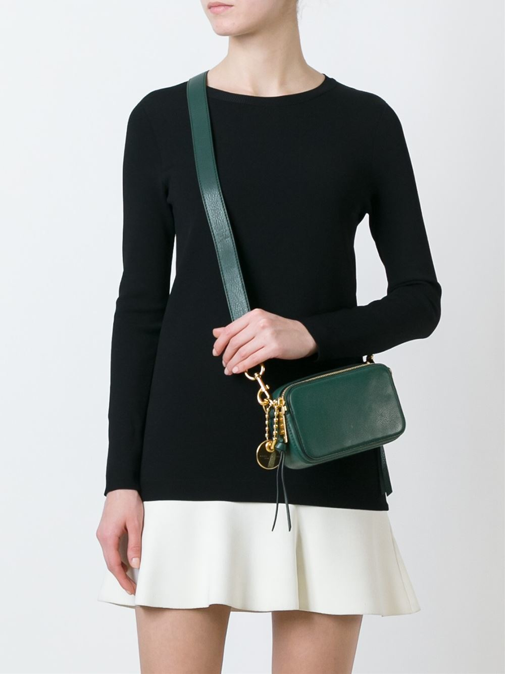 Lyst Marc Jacobs Recruit Camera Bag In Green