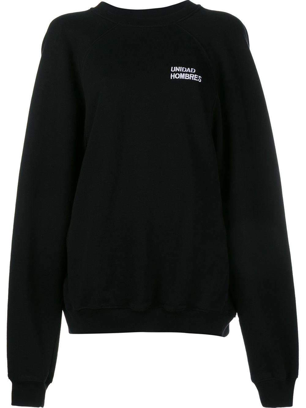 Vetements Oversized Sweatshirt In Black Lyst