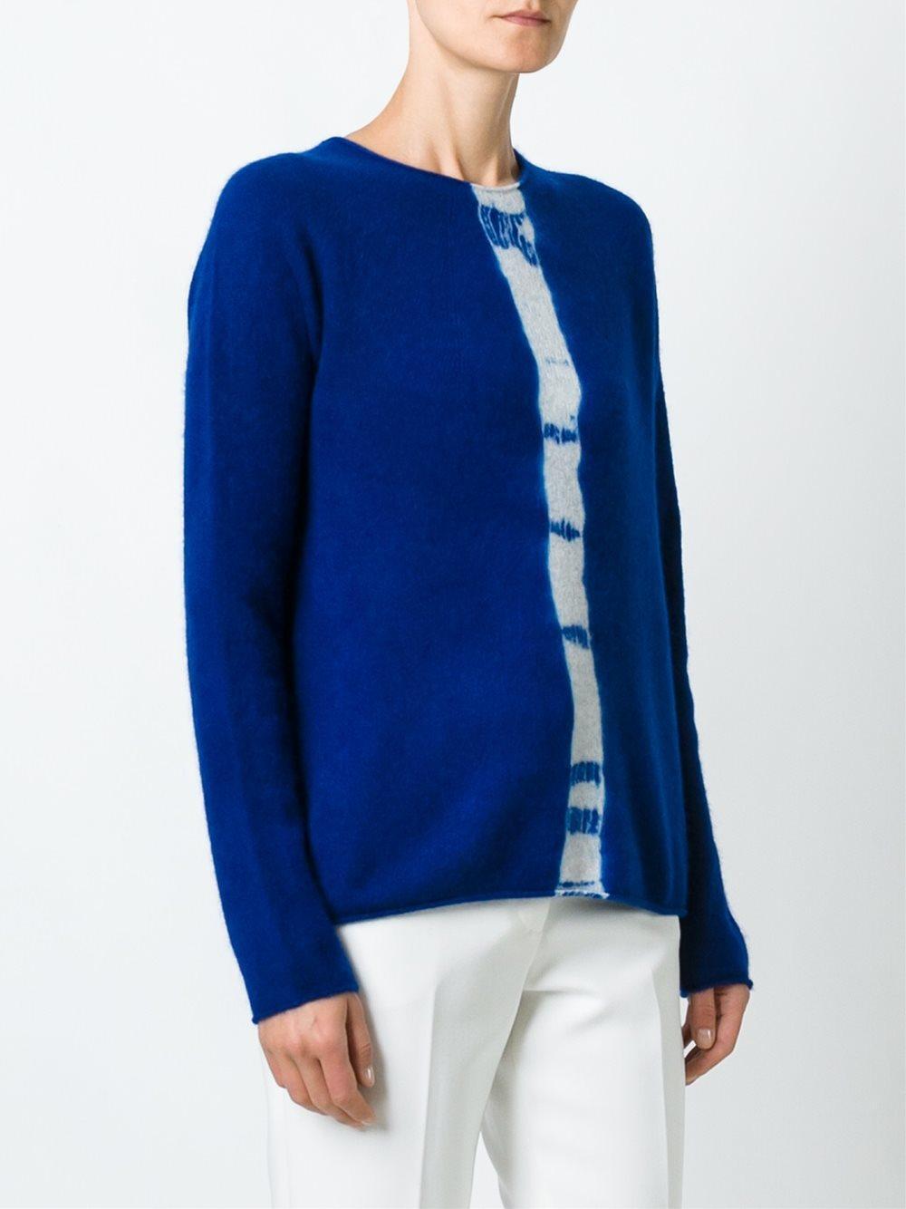 Suzusan Cashmere Crew Neck Sweater | Lyst