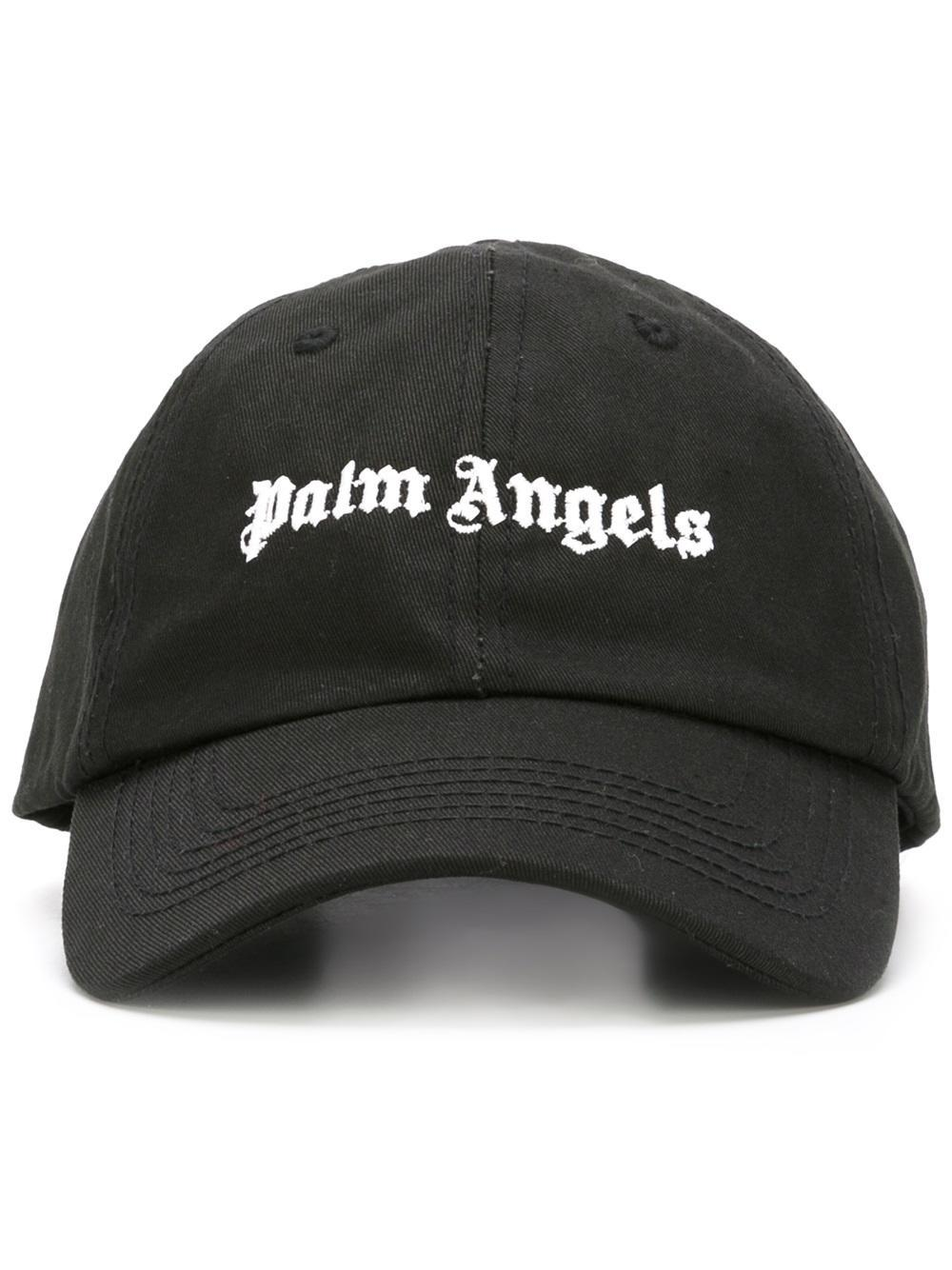 logo patch beanie hat - Black Palm Angels ytR6gi