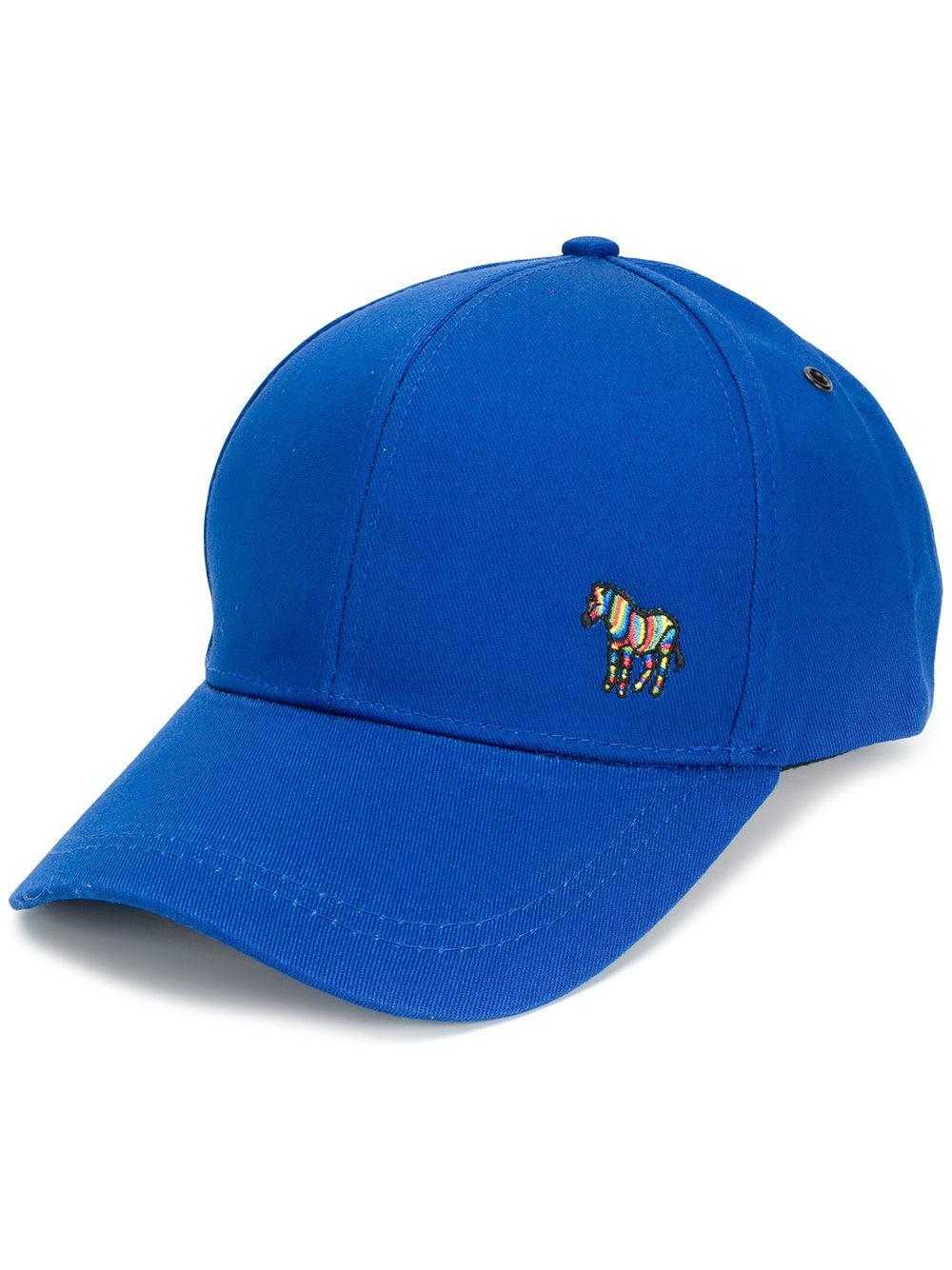 88c13df468a Lyst - Paul Smith Hat in Blue for Men