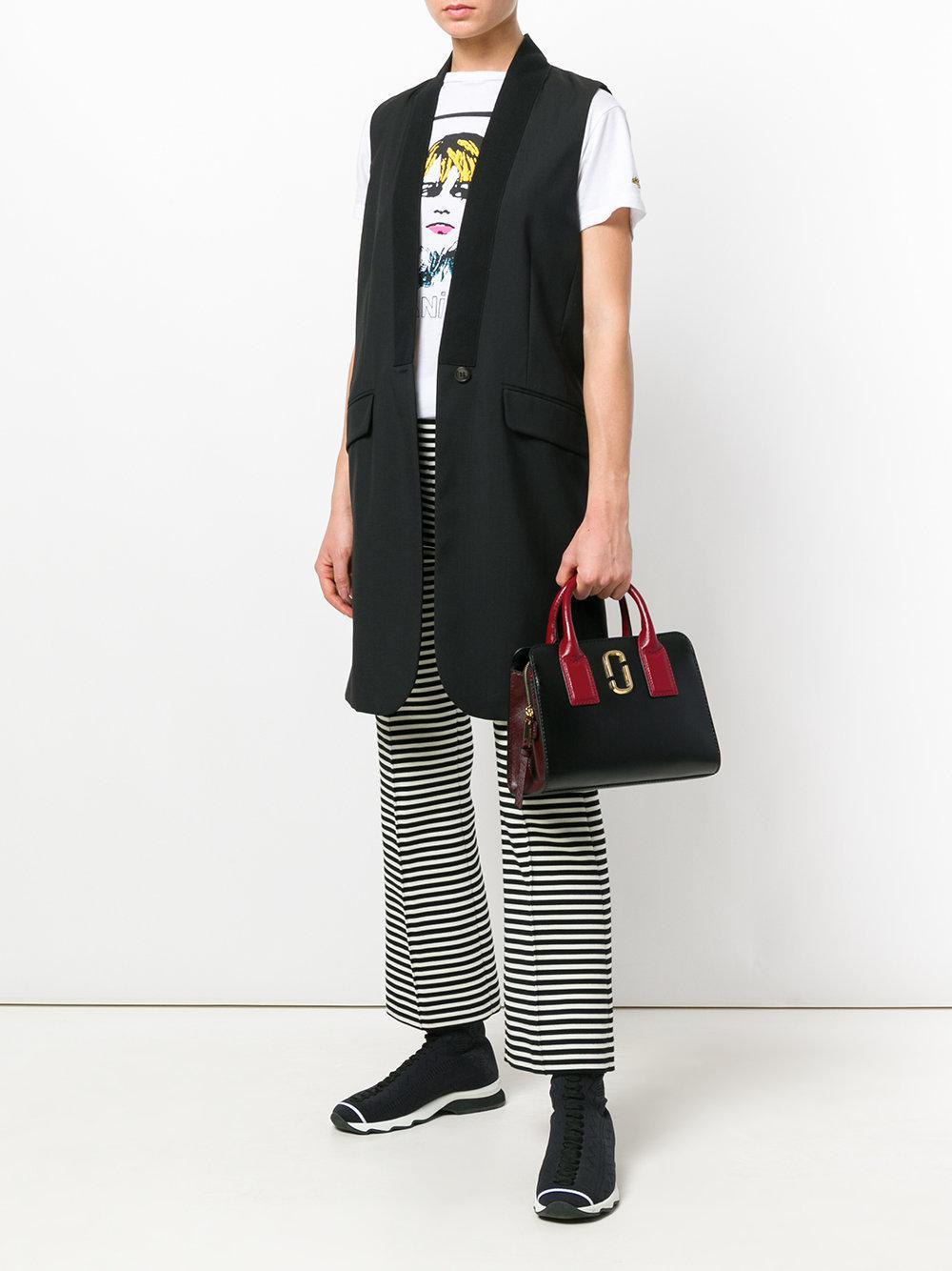 Lyst - Marc Jacobs Little Big Shot Leather Bag in Black c297da5a1d53b