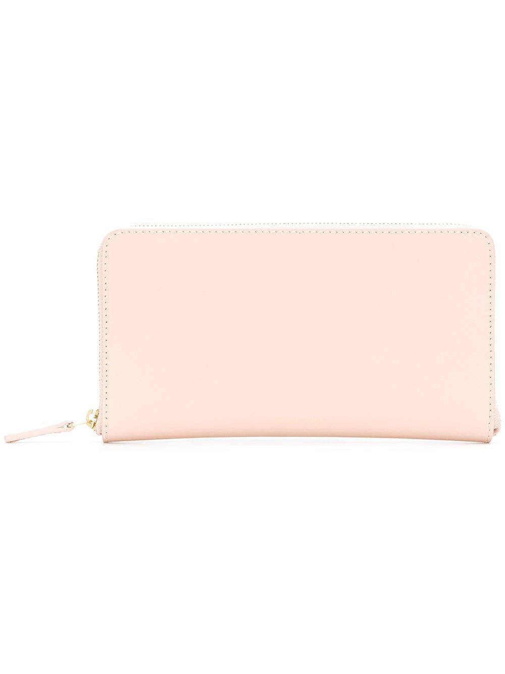 Zip-around leather wallet Mansur Gavriel 3fkEH0O