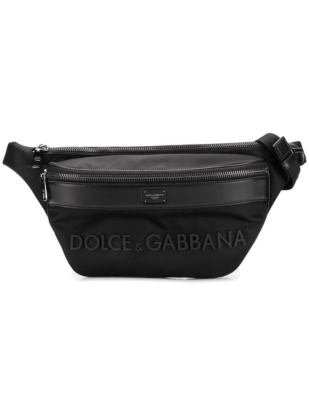 Dolce   Gabbana - Black Calf Pouch for Men - Lyst. View fullscreen b4a0808771