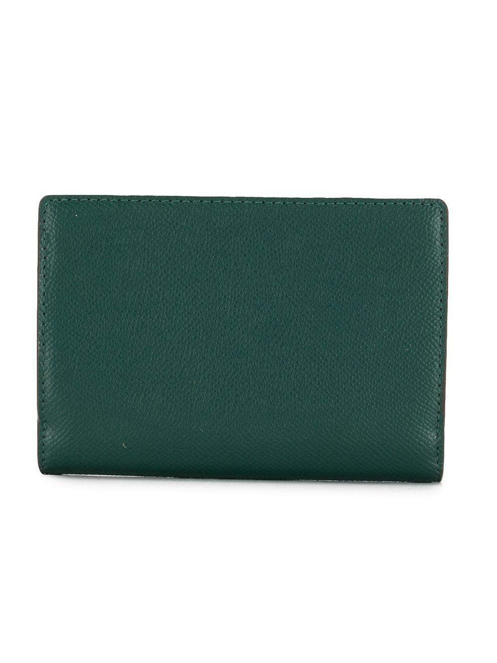 3e10201e0d43 MICHAEL Michael Kors Jet Set Slim Wallet in Green - Save 1% - Lyst