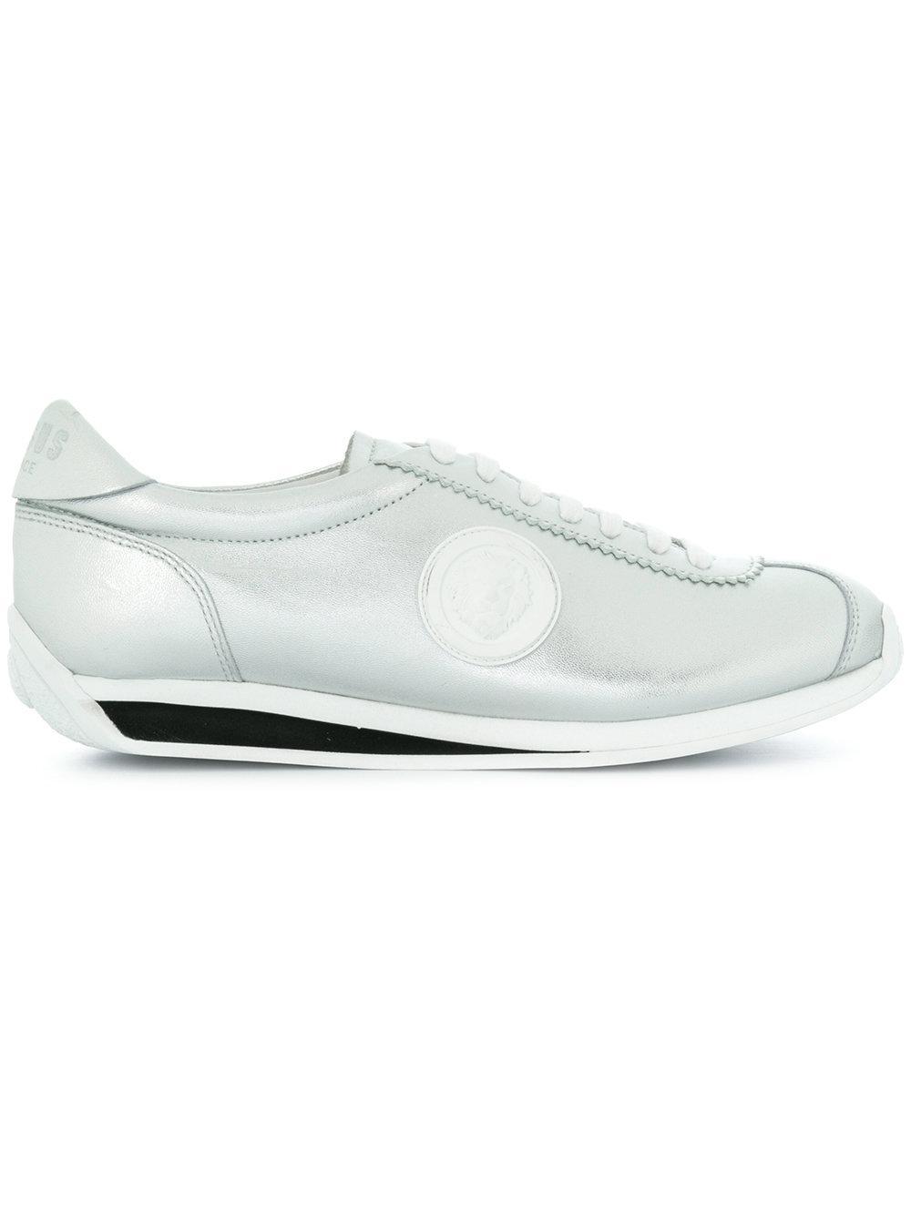Versus Leather Laced Sneaker NIFaFK