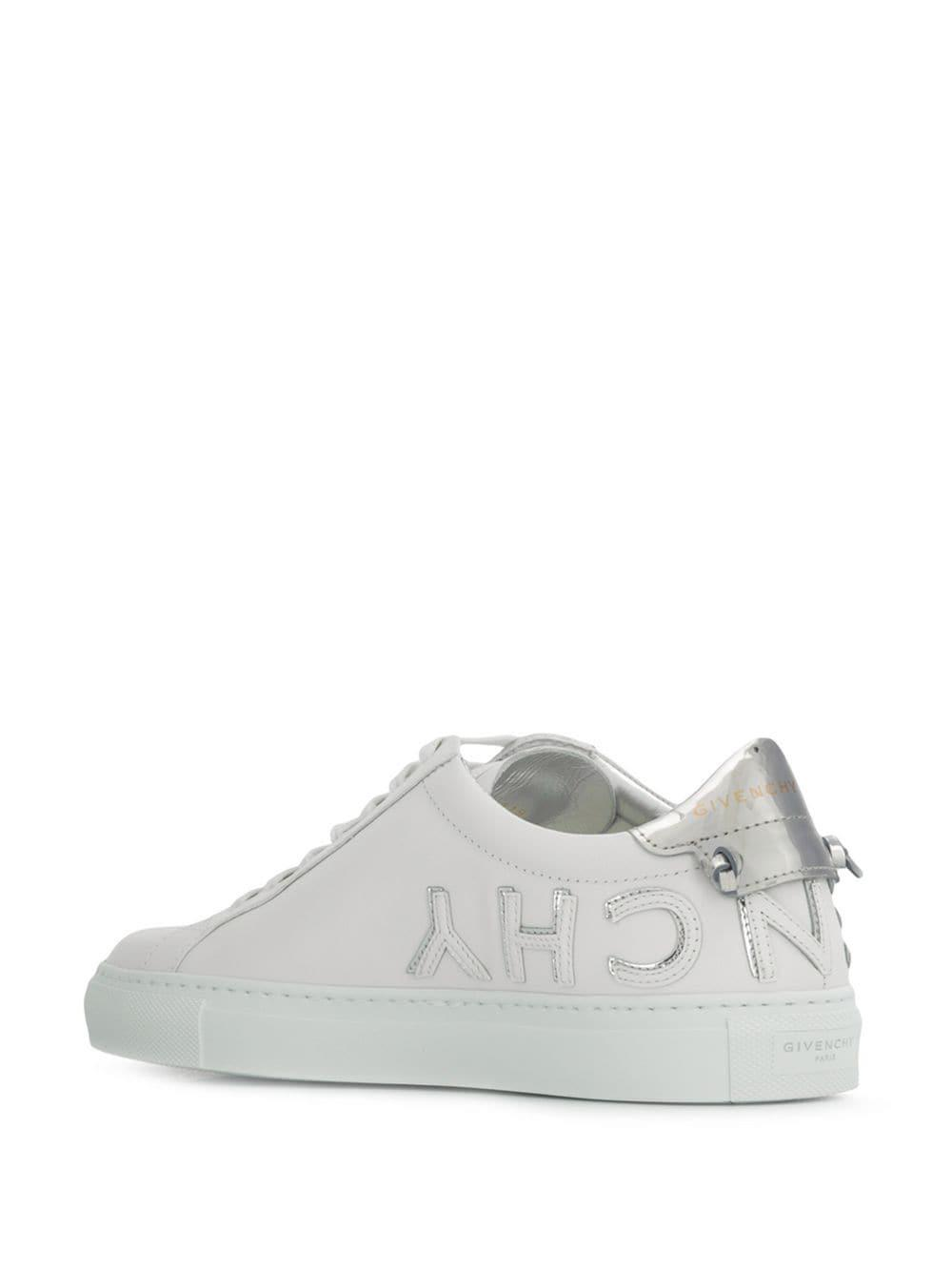 4aa84b9c8ba6c Lyst - Givenchy Urban Street Leather Sneakers in White