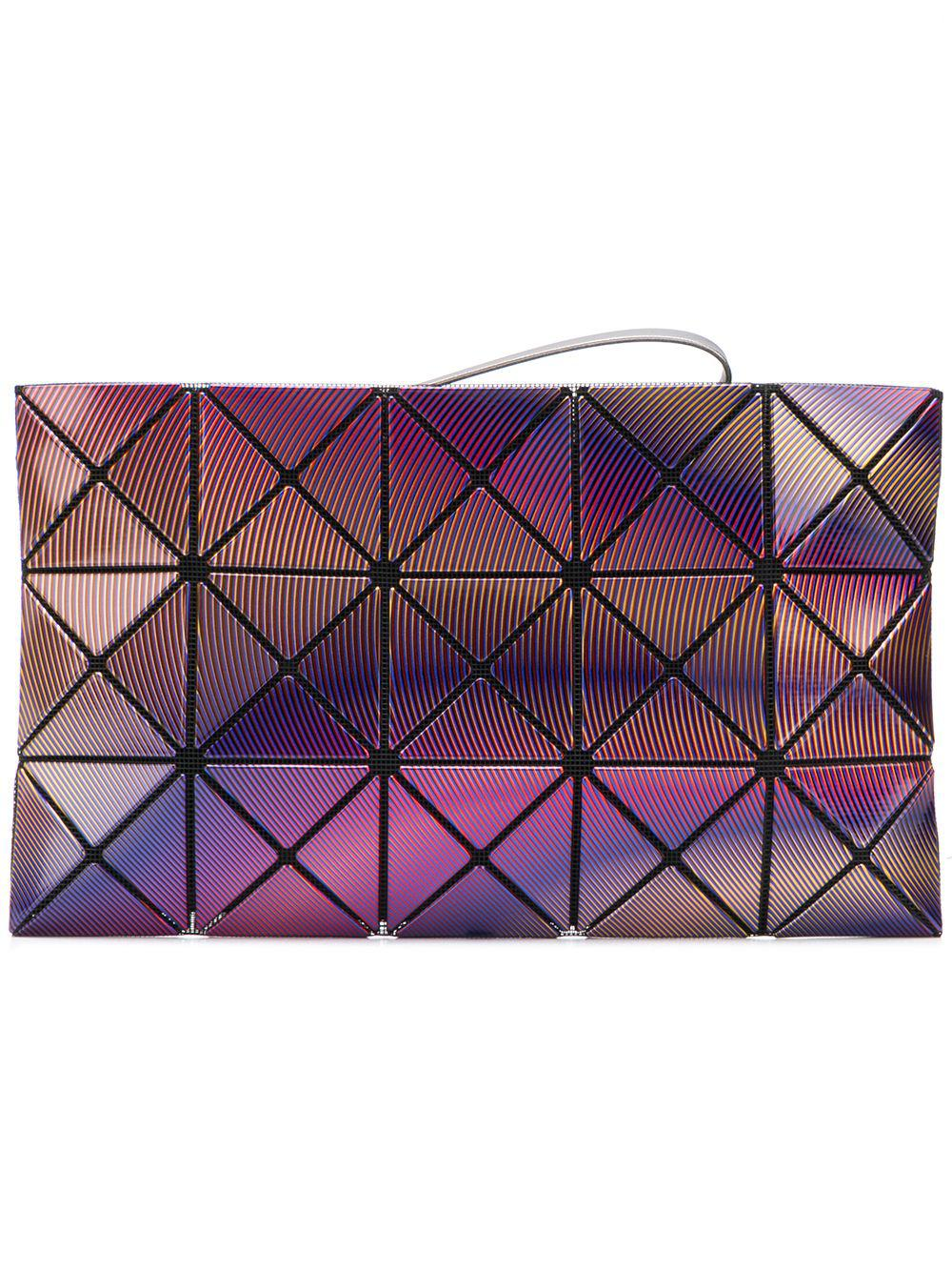 1484929f38 Lyst - Bao Bao Issey Miyake Phase Pouch in Purple