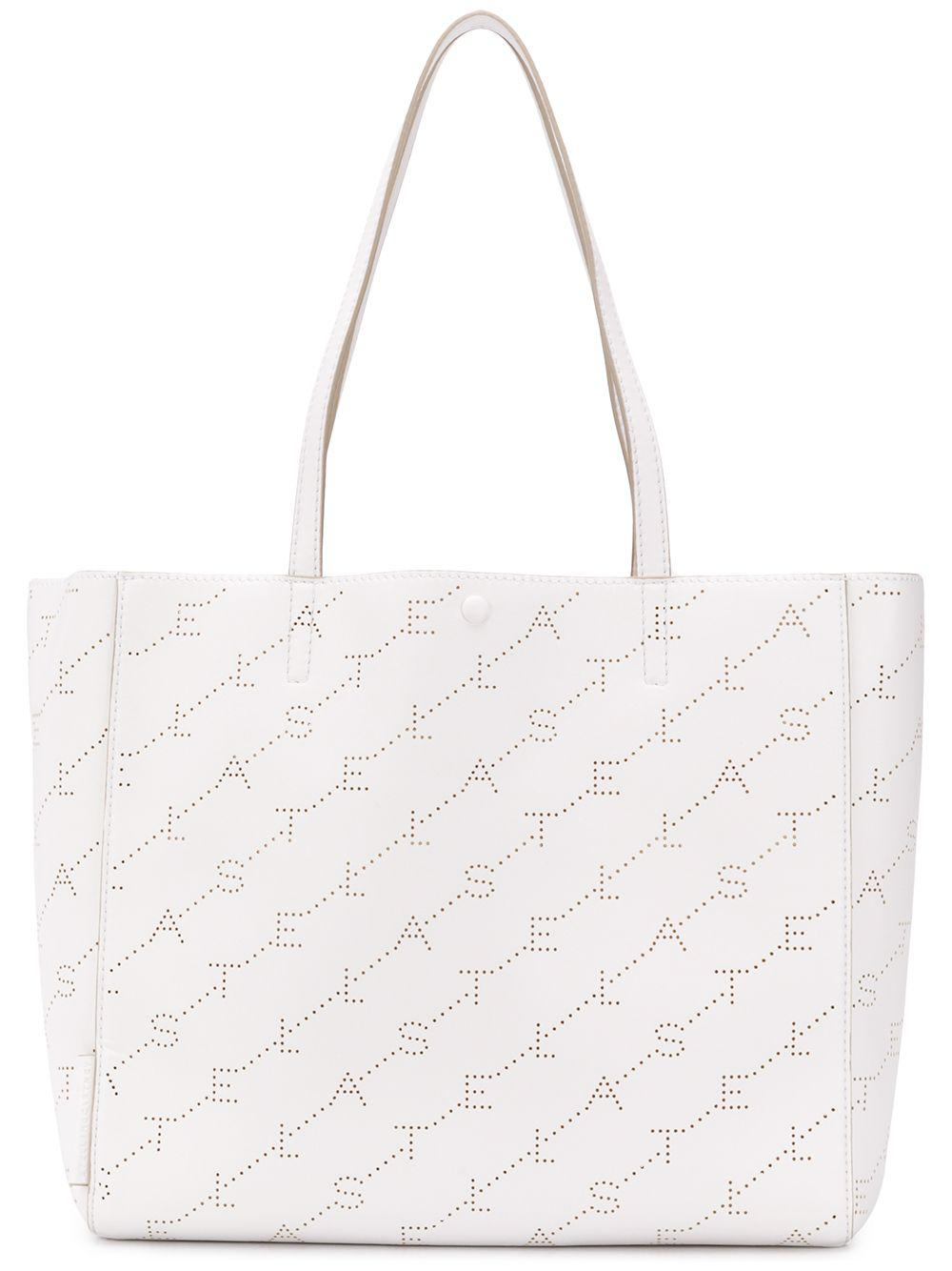 637e91632048 Lyst - Stella Mccartney Tote Bag in White - Save 55.97989949748744%
