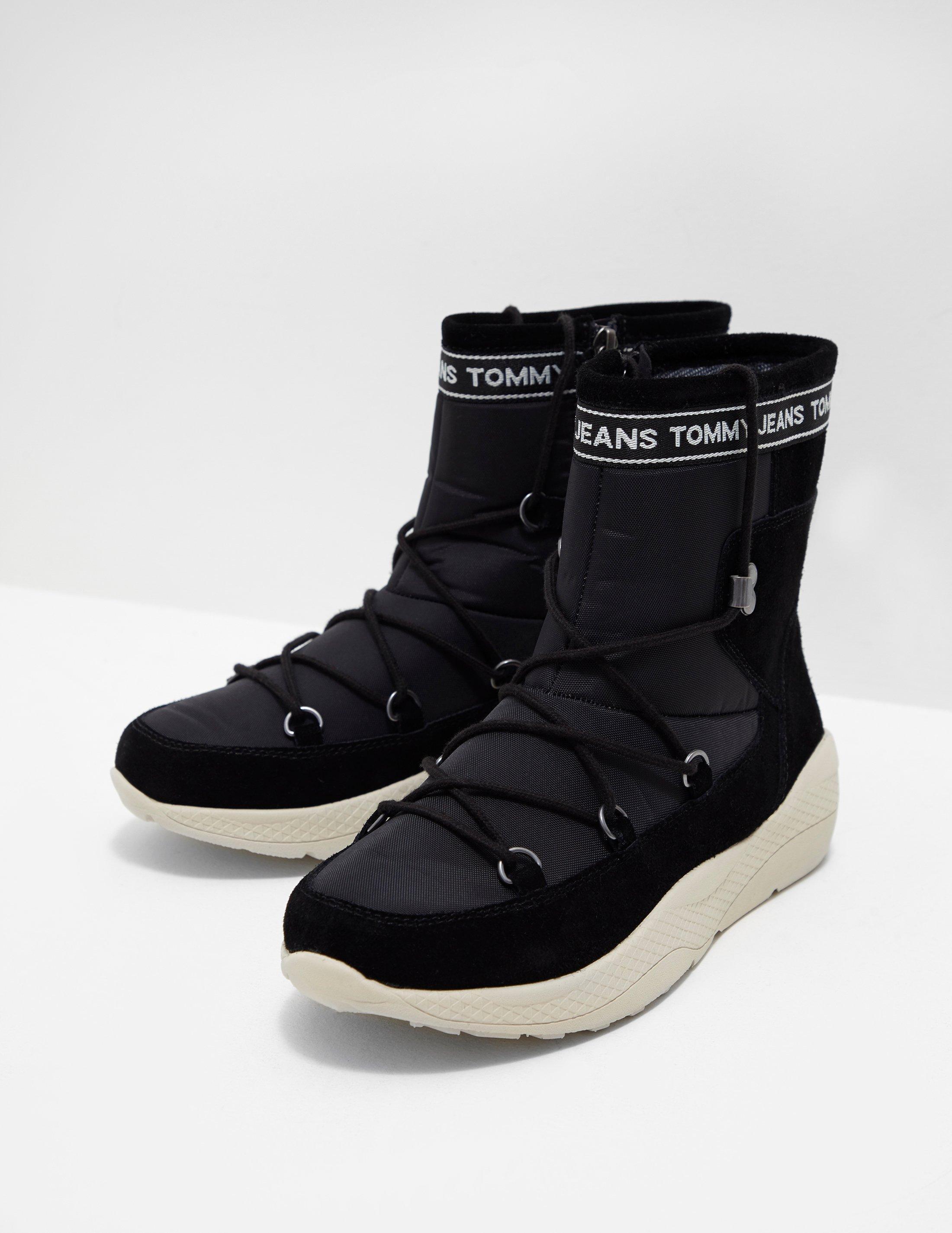 66e07ef94 Tommy Hilfiger Hybrid Ski Boots Black in Black - Save 57% - Lyst