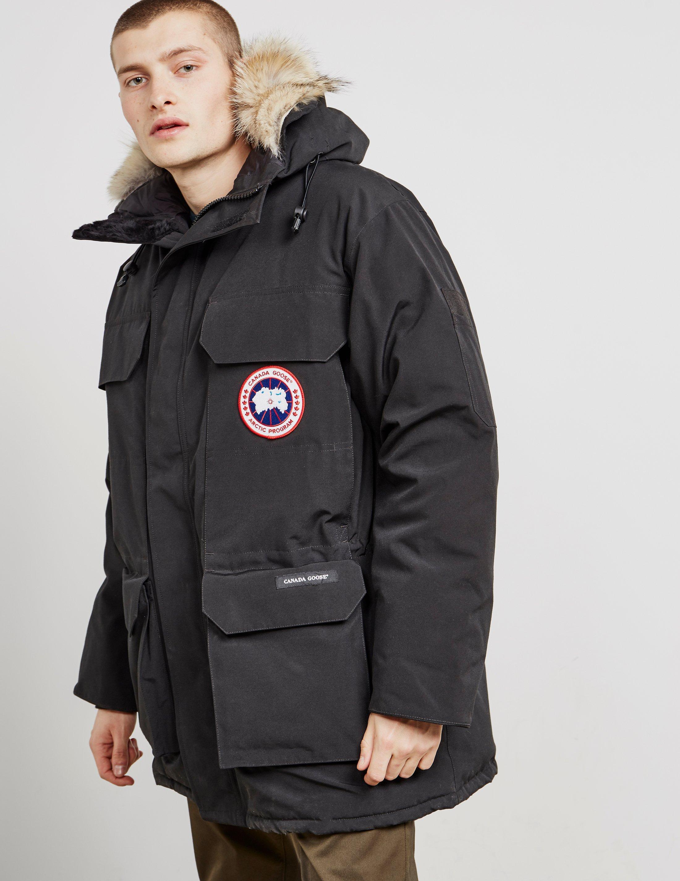 canada goose mens expedition parka black