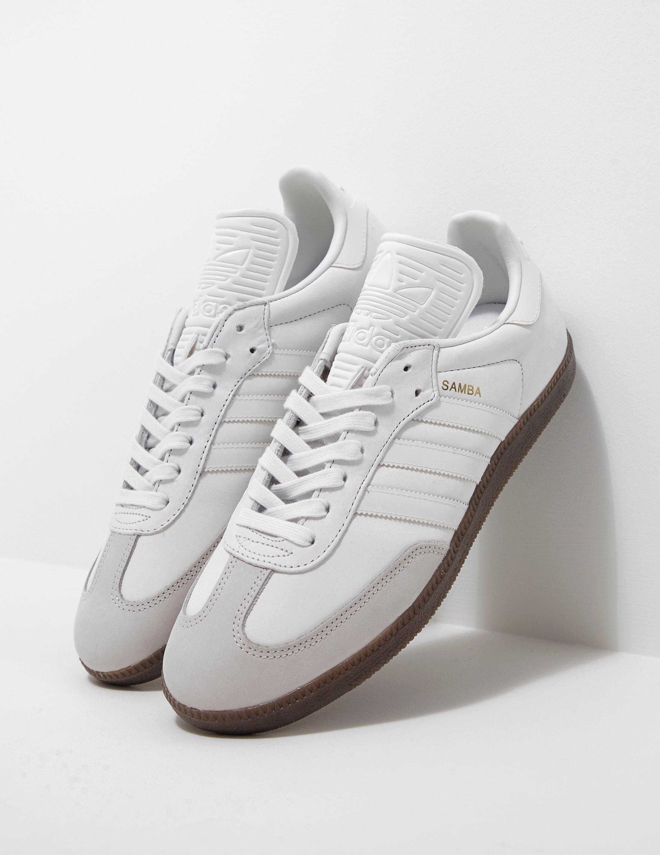 9541b2358 ... shoes white core black clear granite bz0057 8 d 02595 f448f  canada  gallery. previously sold at tessuti uk mens adidas samba ca082 8e3d2