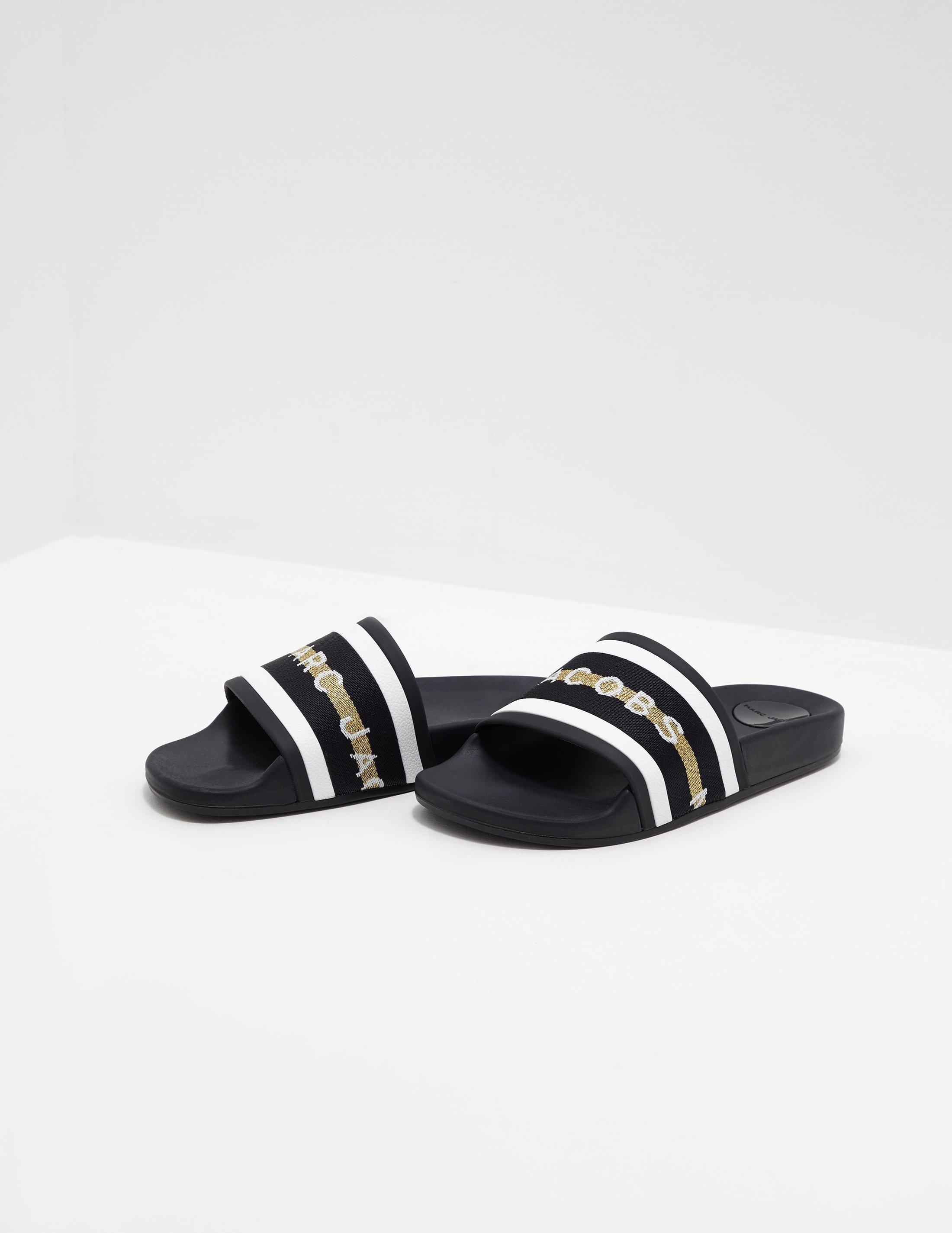 711b901905e1 Marc Jacobs - Womens Cooper Slides Black - Lyst. View fullscreen