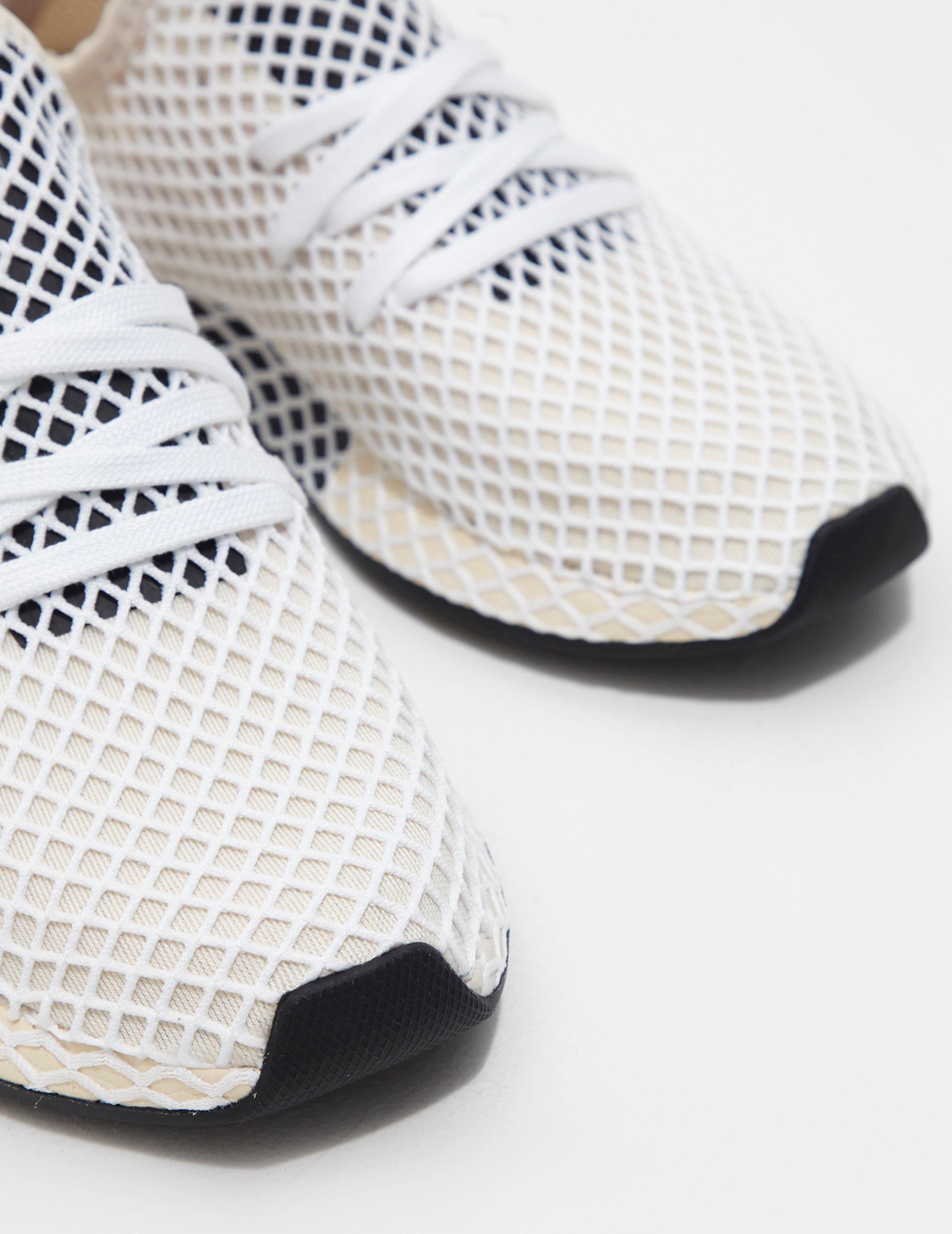 2396a22200df4 Lyst - adidas Originals Womens Deerupt Women s Cream